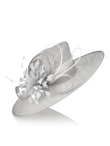 Jacques Vert Feather Flower Hat