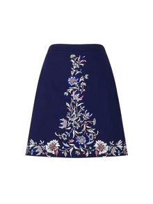 Precis Petite Adele Embroidered Skirt
