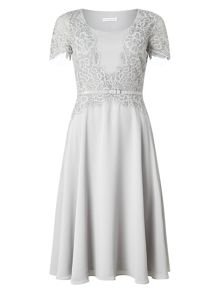 Jacques Vert Delicate Lace Soft Dress