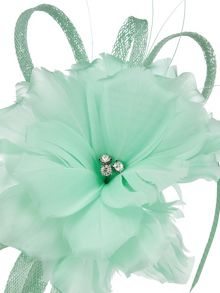 Jacques Vert Mint Fascinator