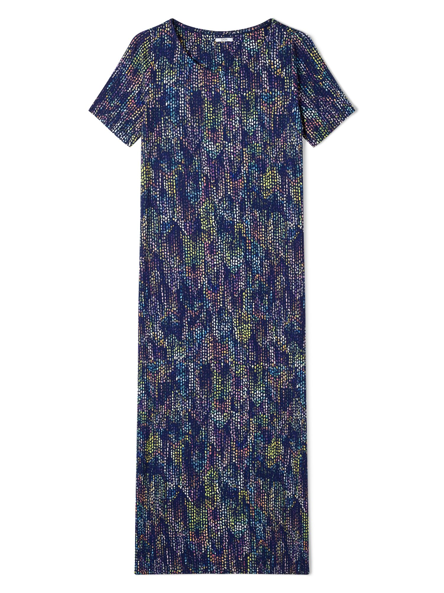 Dash Roofhut Print Maxi Dress, Blue