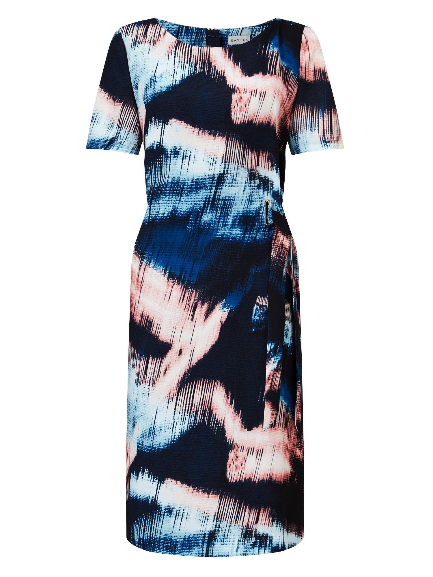 Eastex Sky Reflection Print Dress, Multi-Coloured