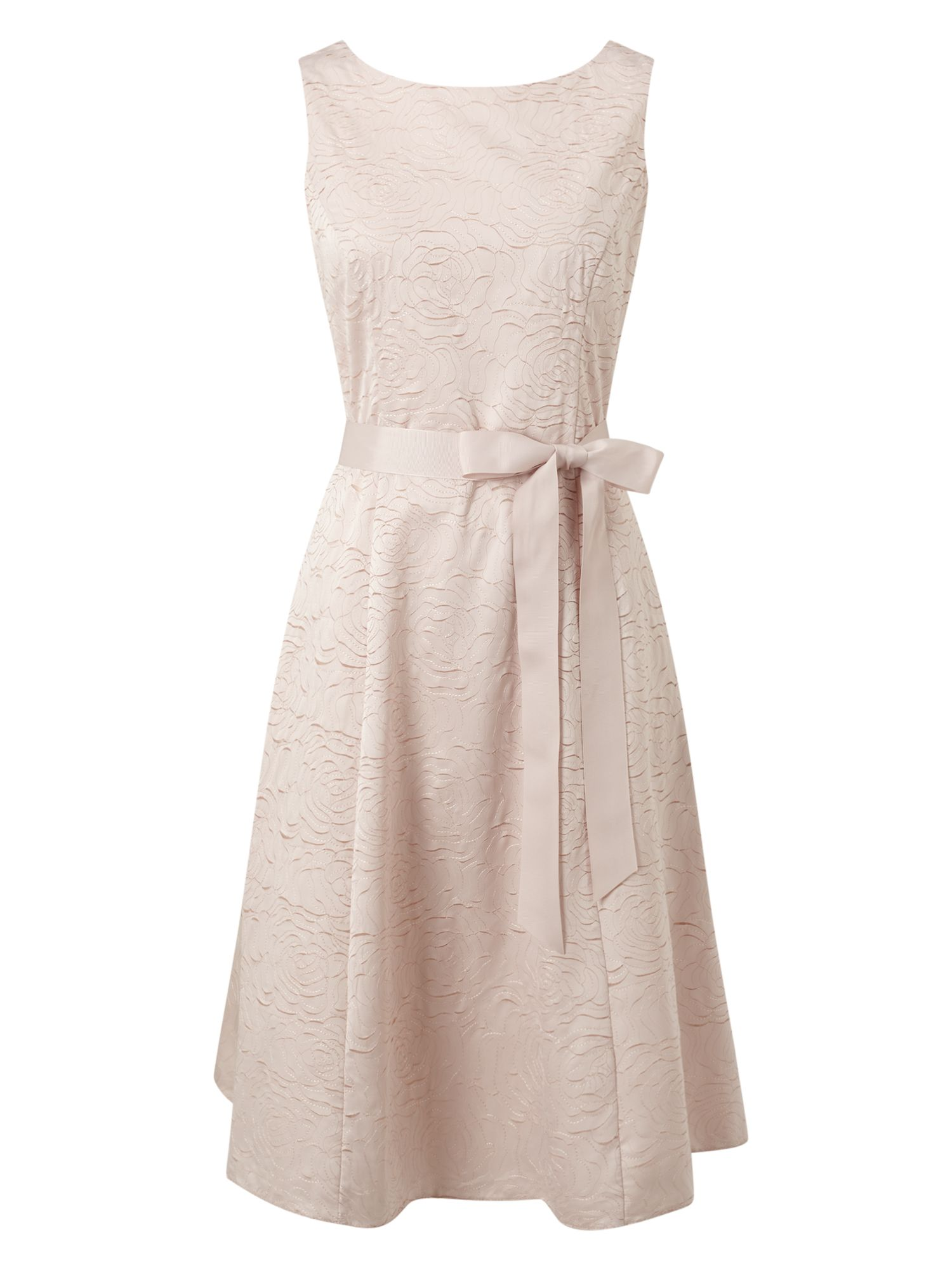 Jacques Vert Lazer Flower Dress, Neutral