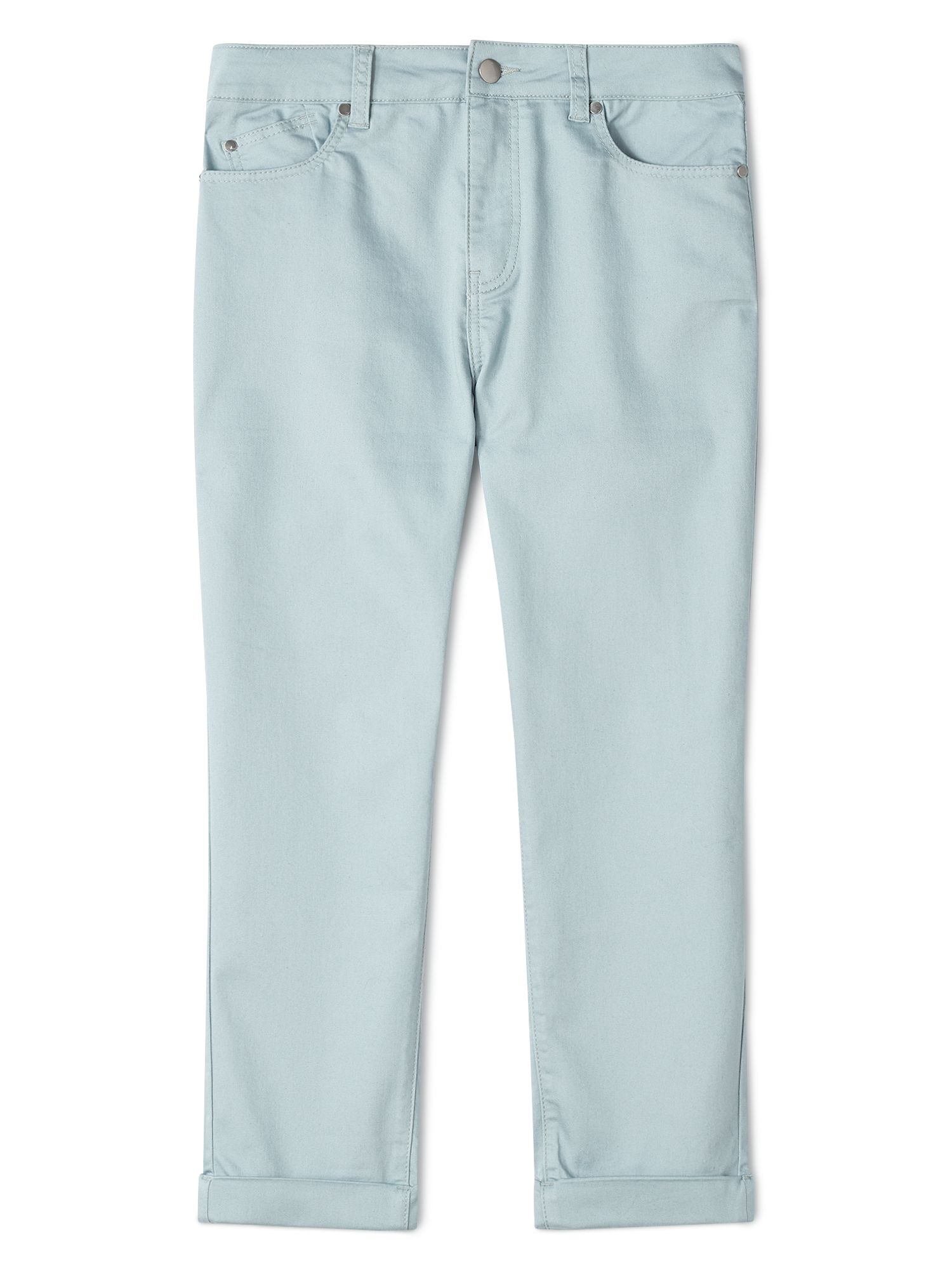 Dash Sea Mist Crop Trousers, Blue