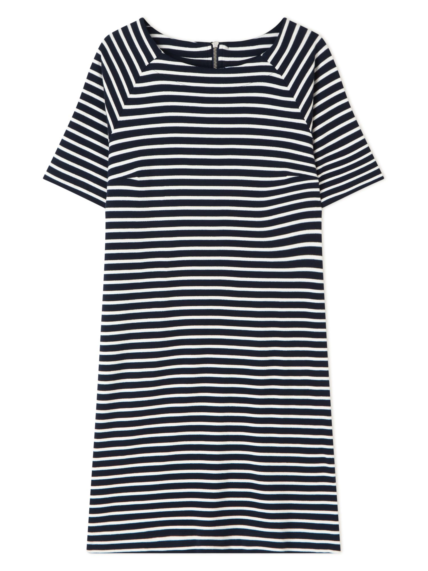 Dash Sparkle Stripe Jersey Dress, Blue