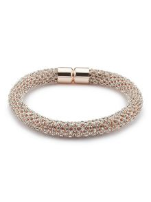Jacques Vert Diamante Rope Effect Bracelet