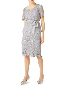 Jacques Vert Floral Lace Pencil Skirt