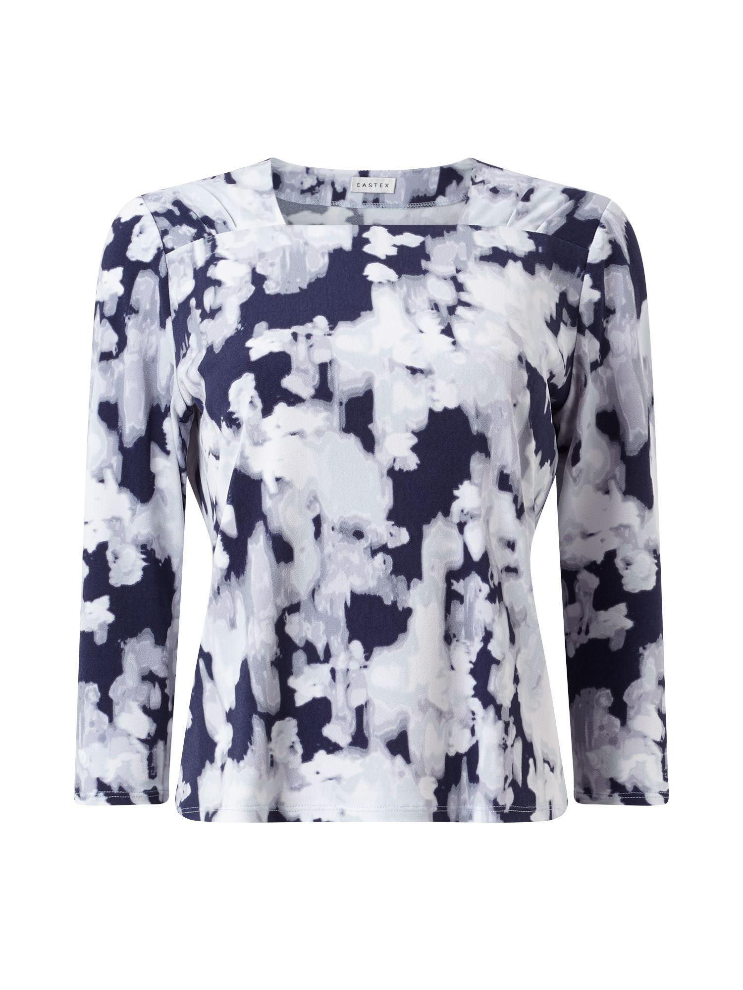 Eastex Reflective Bloom Wrap Top, Multi-Coloured