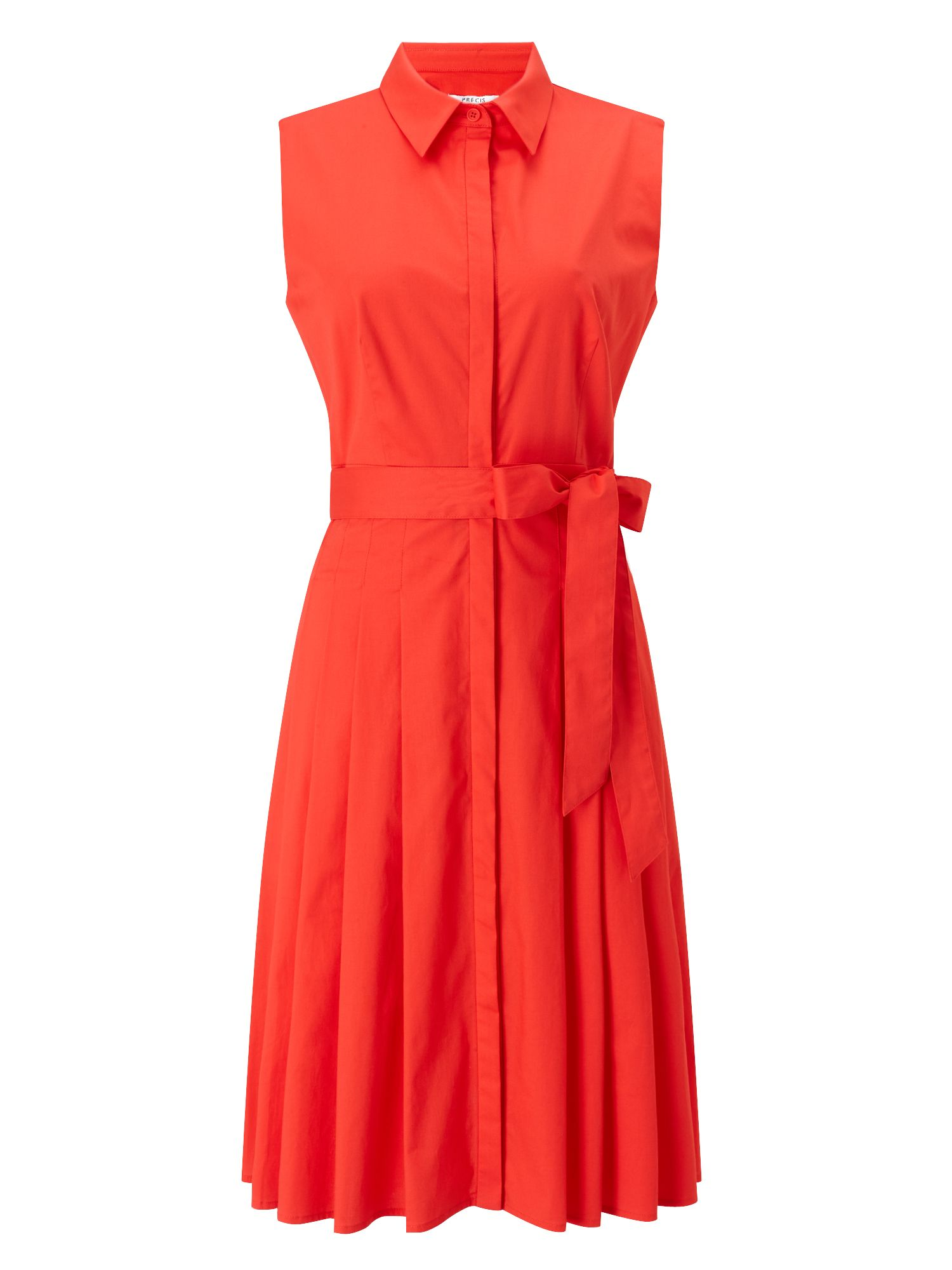 Precis Petite Petite Demi Shirt Dress, Orange