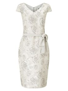 Jacques Vert Subtle Jacquard Dress