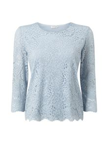 Eastex Jersey Lace Top