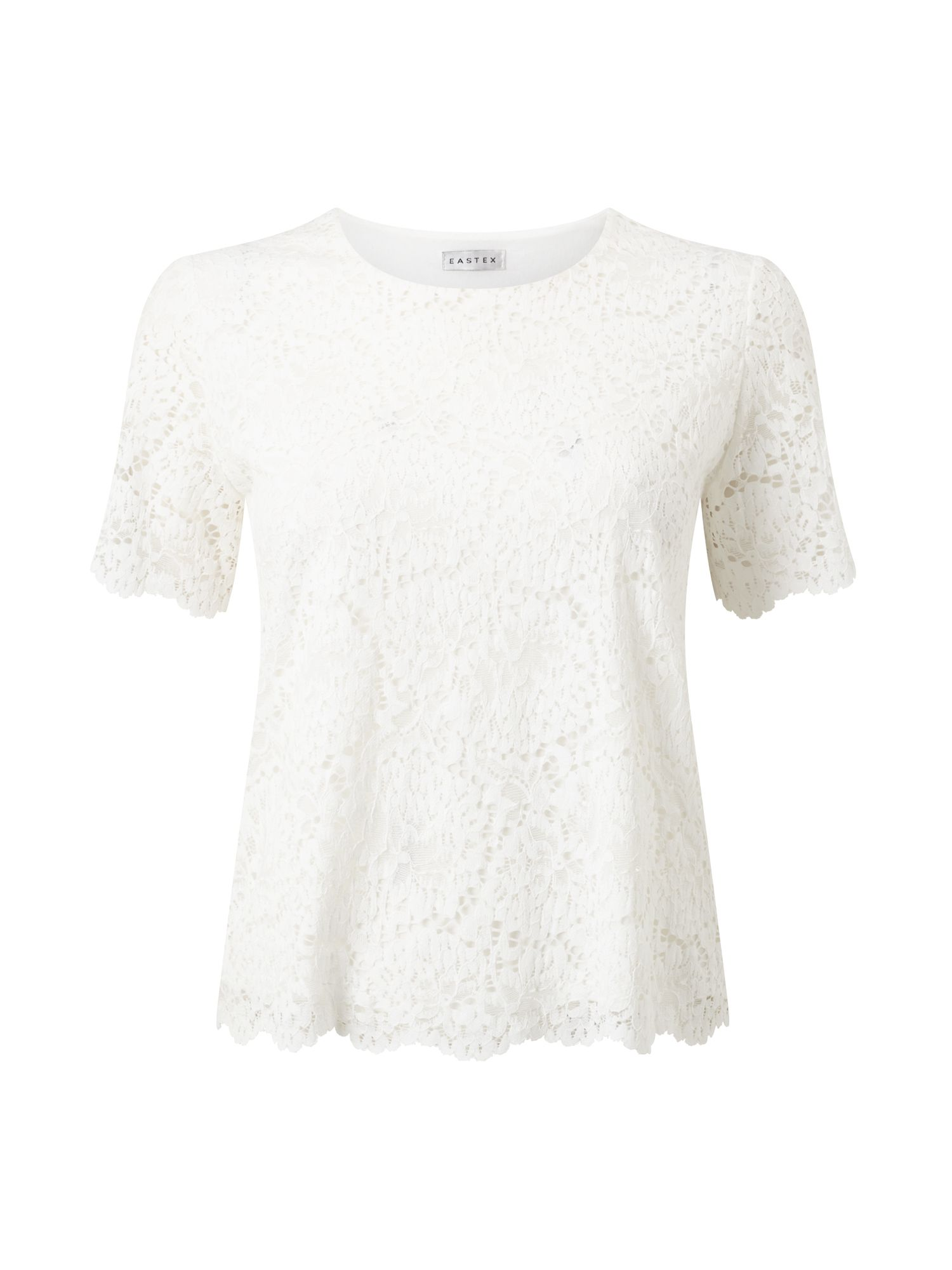 Eastex Ivory Lace Top, Neutral