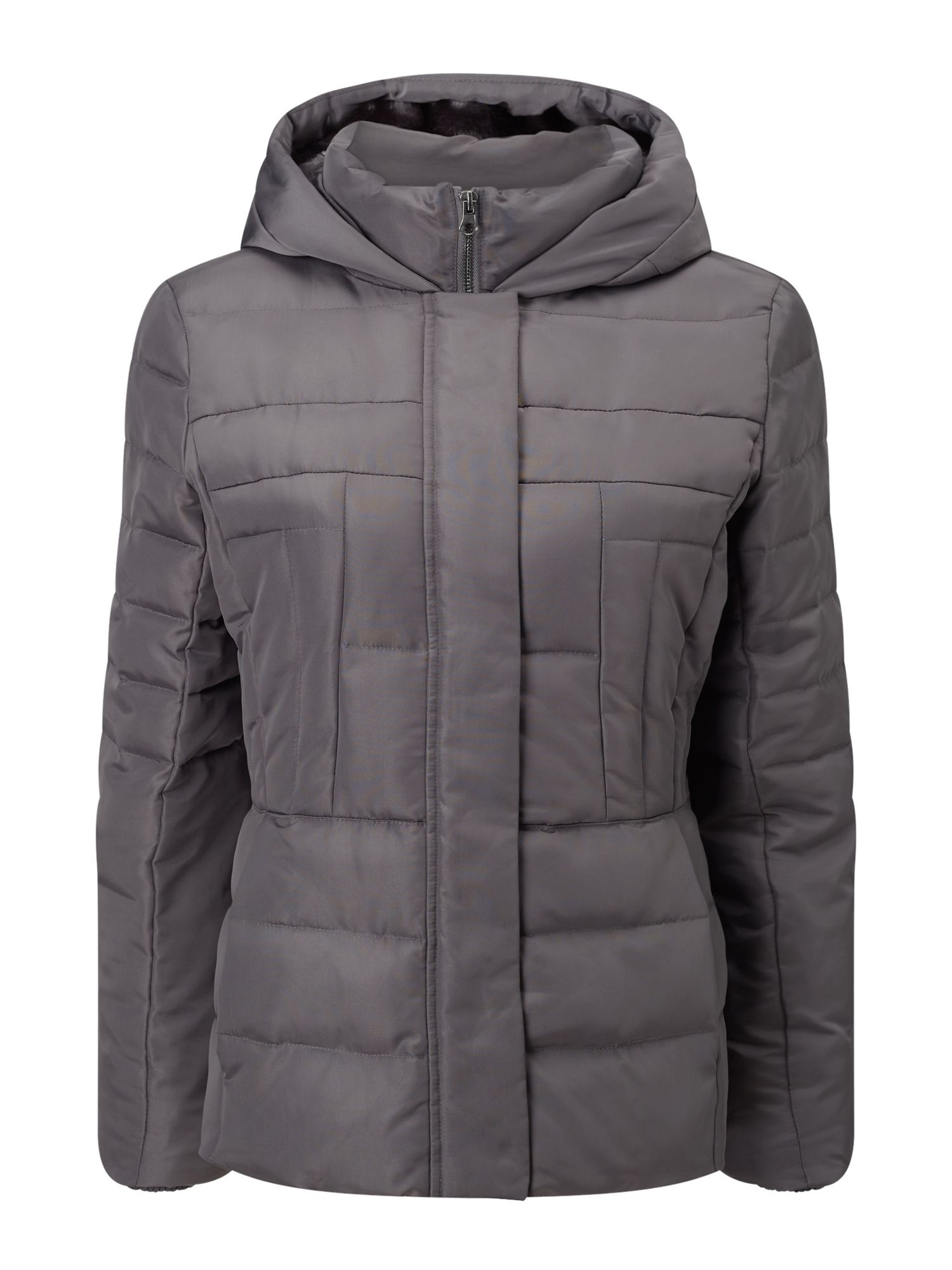 Precis Petite Petite Quilted Jacket, Grey