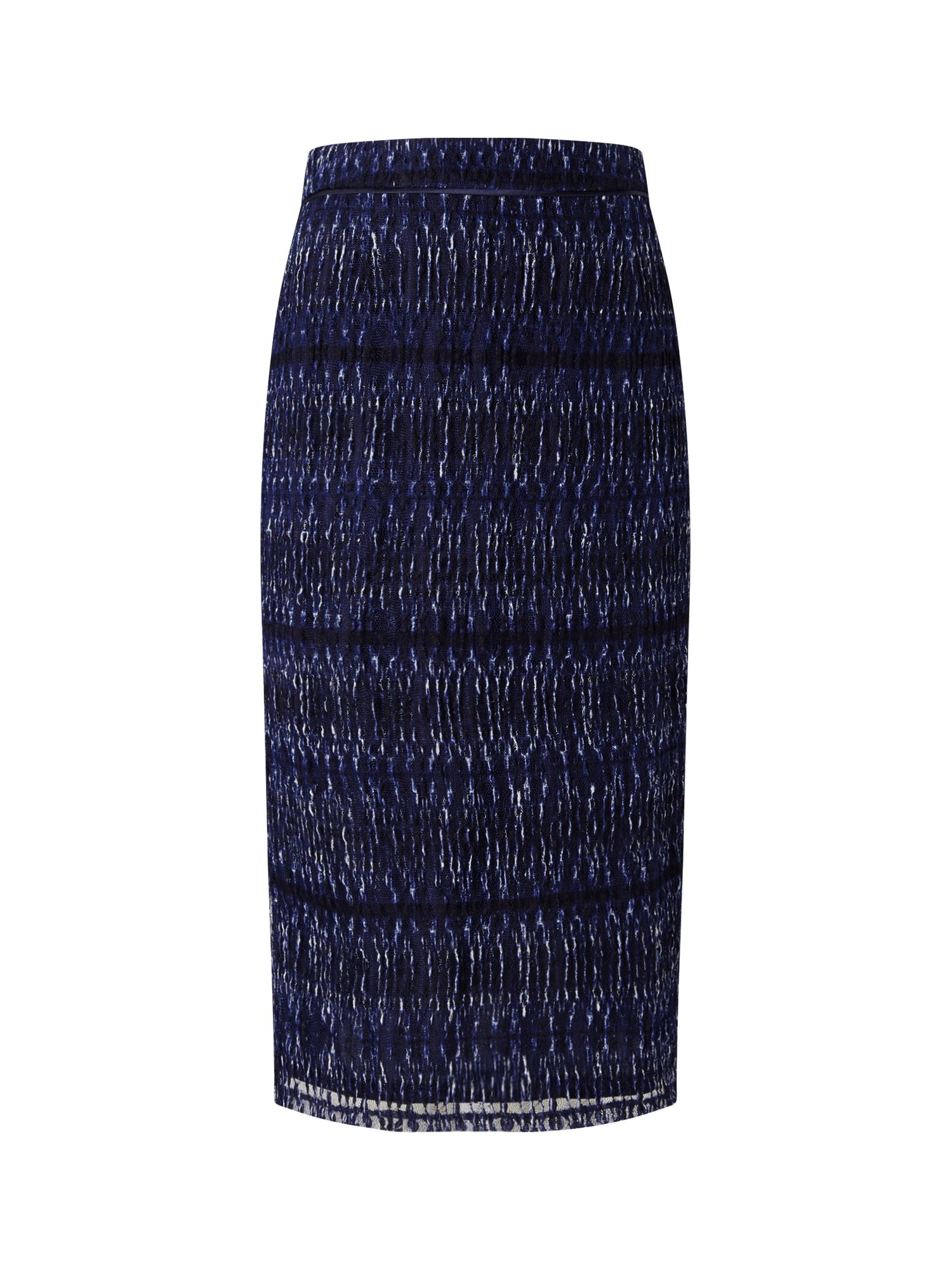 Eastex Jersey Mesh Straight Skirt, Multi-Coloured