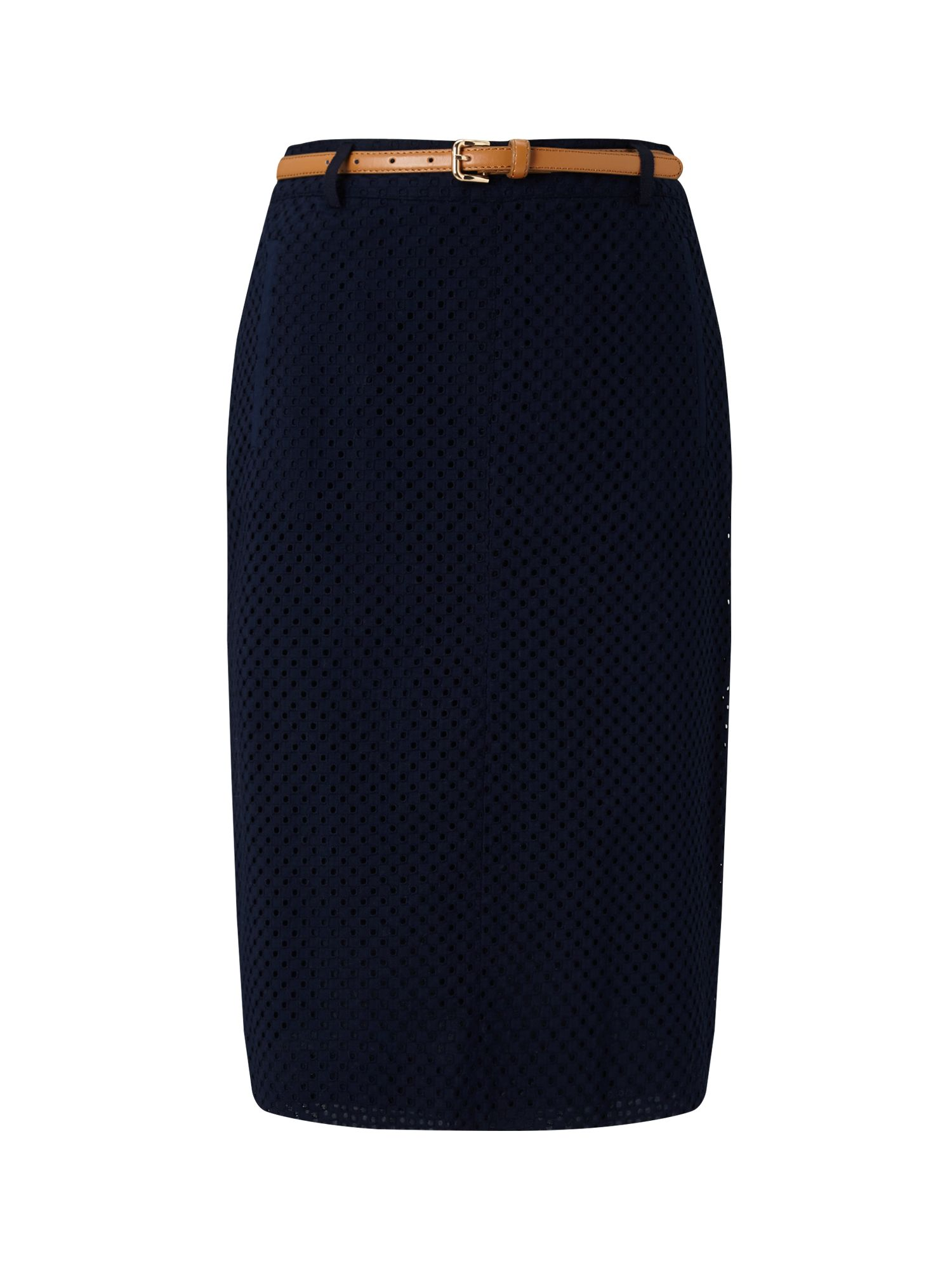 Eastex Broderie Skirt, Blue