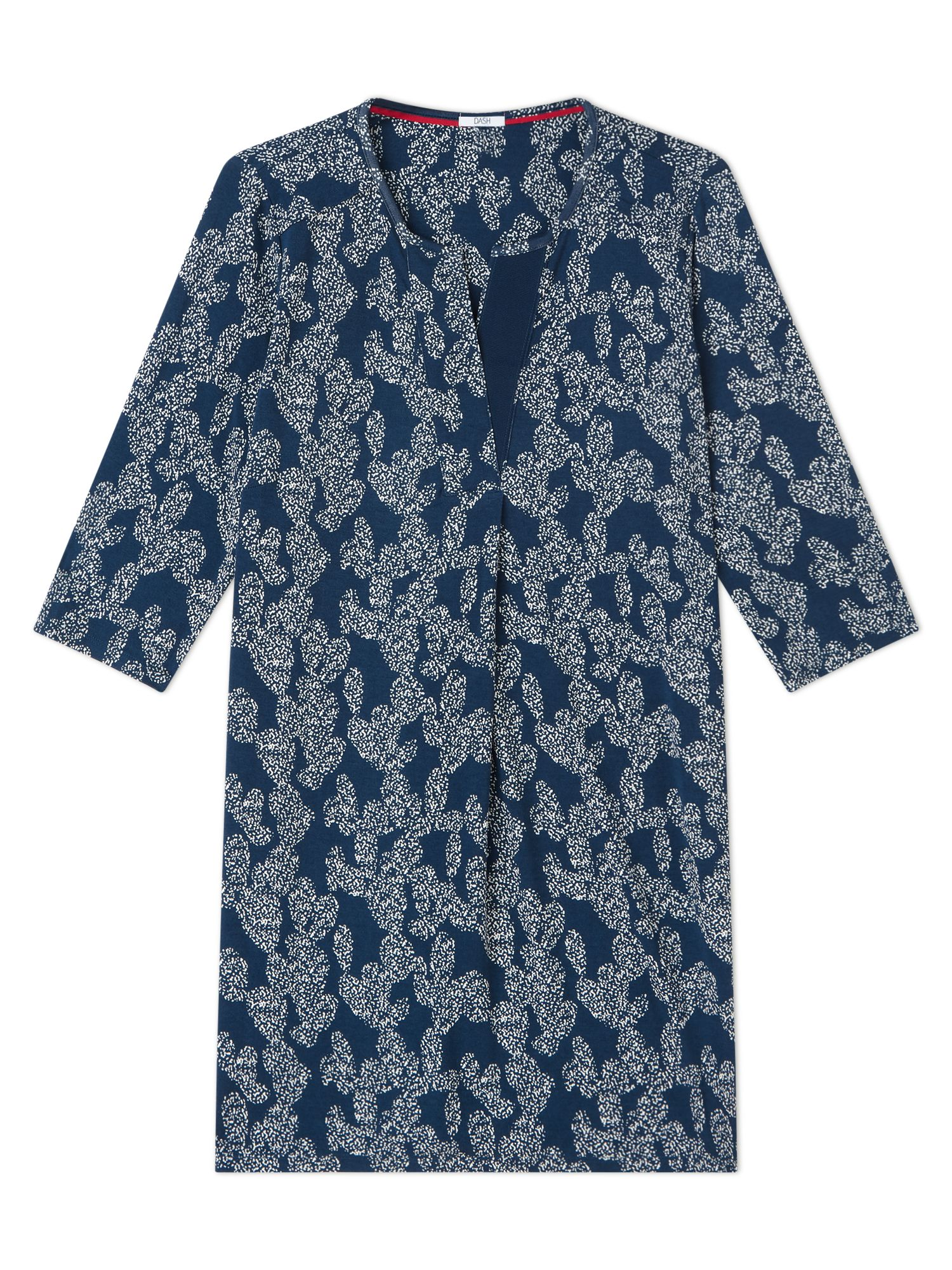 Dash Printed Tunic, Blue
