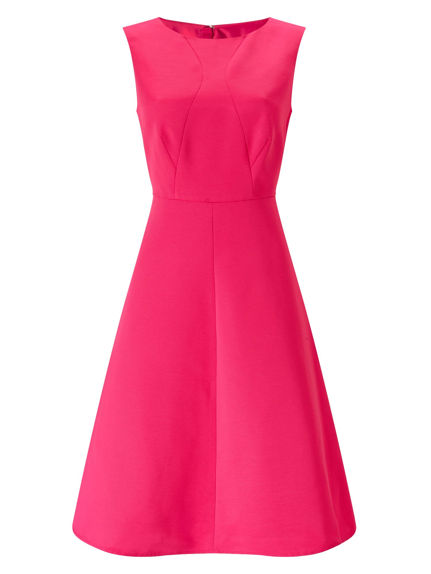 Precis Petite Petite Fit And Flare Dress, Pink