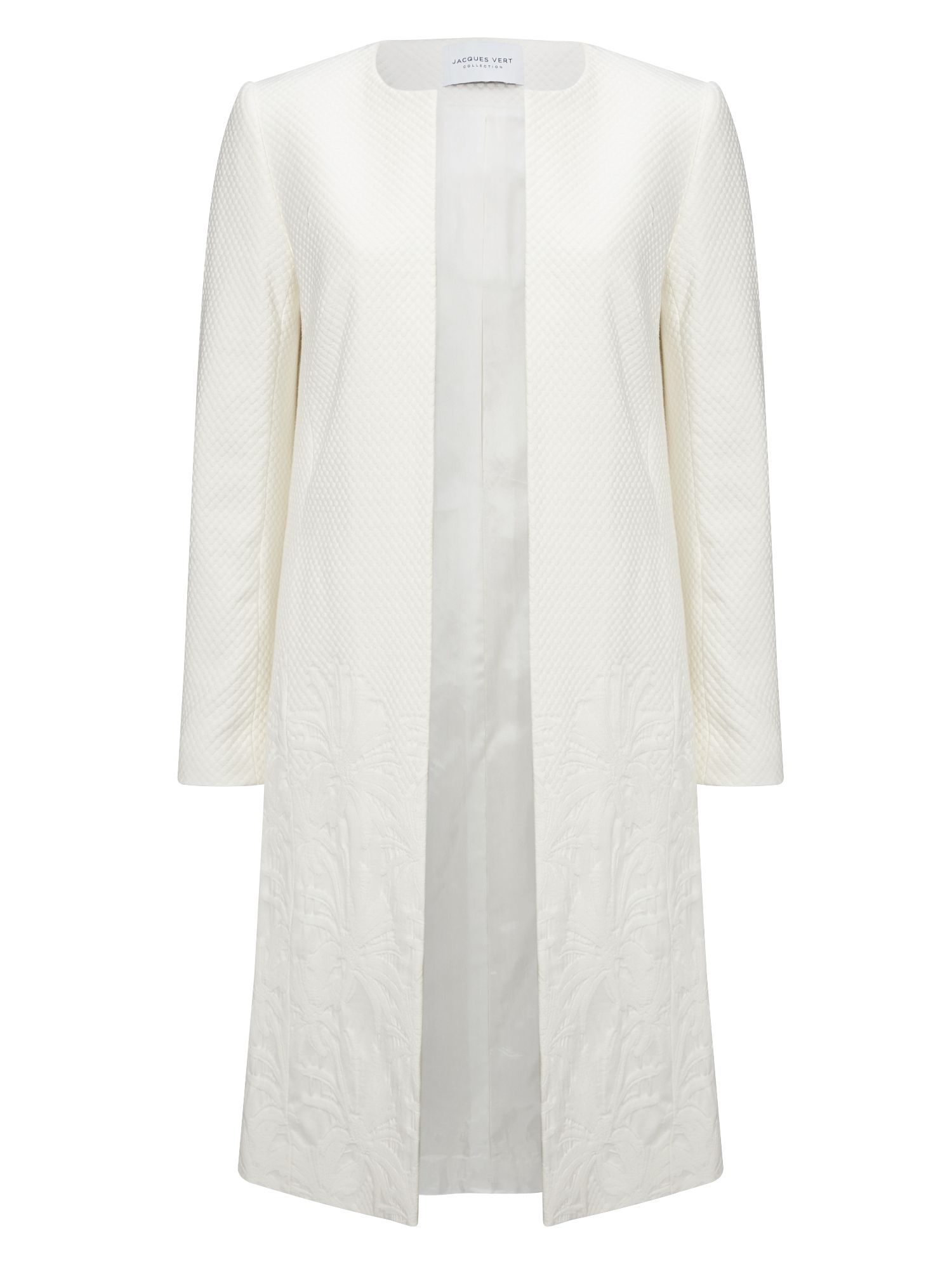 Jacques Vert Gradual Textured Jacket, Neutral