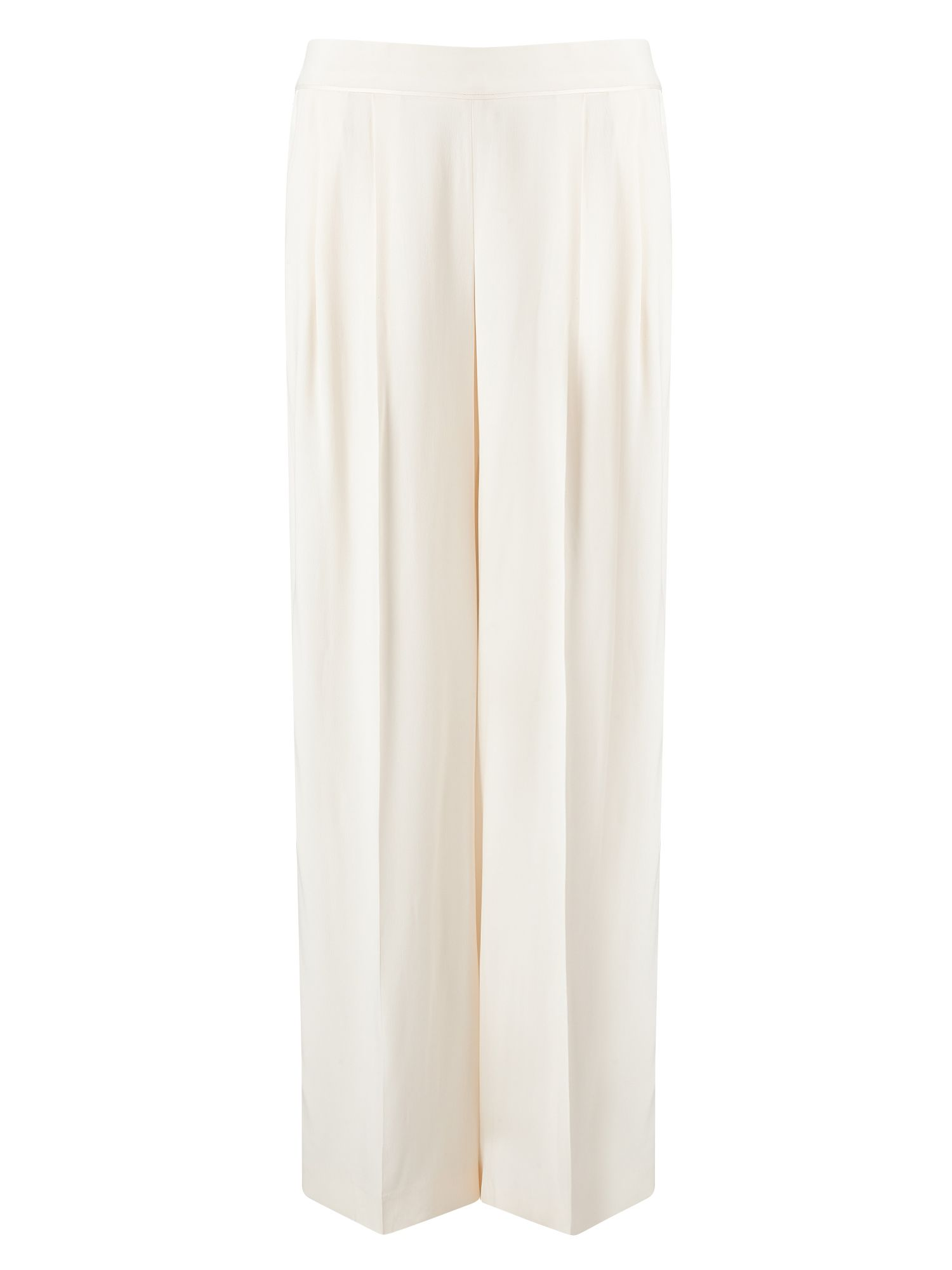 Jacques Vert Full Length Trouser, White