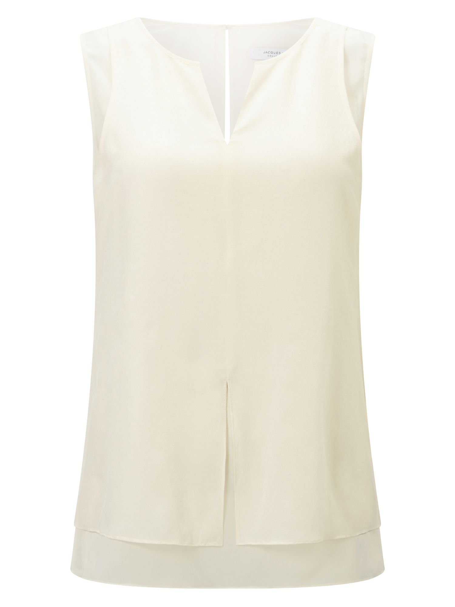 Jacques Vert Double Layer Vest, White