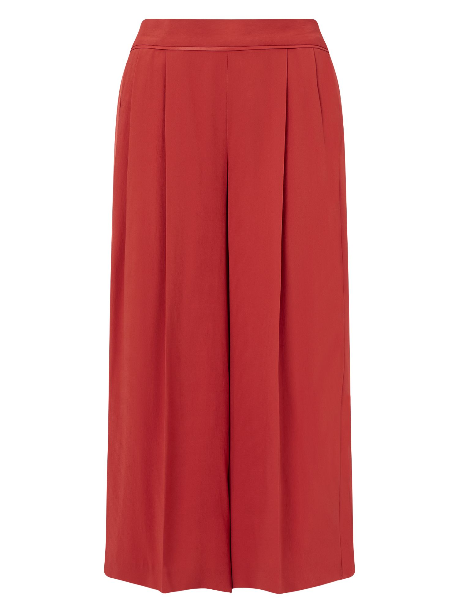 Jacques Vert Cropped Trouser, Red