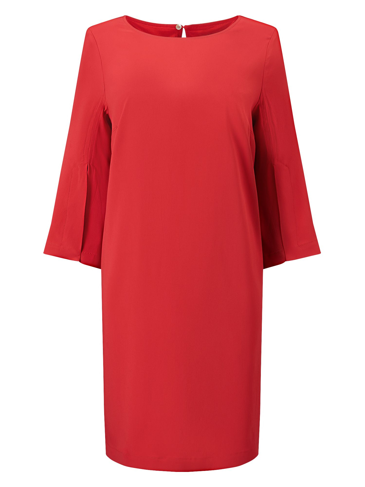 Jacques Vert Tie Side Sophisticated Dress, Red