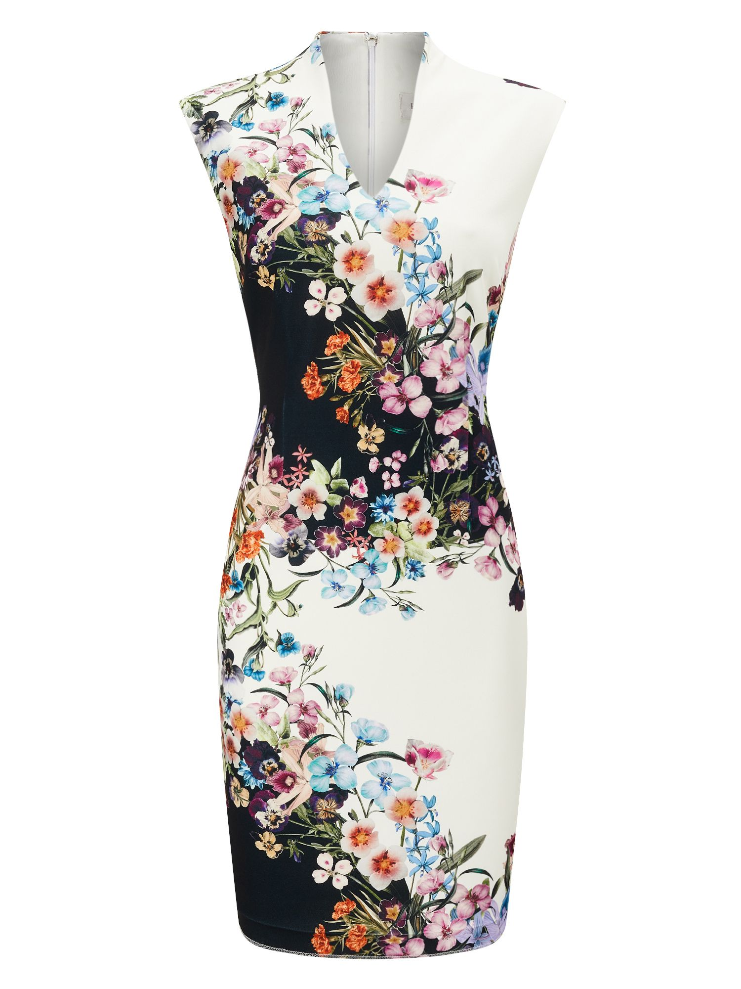 Precis Petite Petite Trailing Floral Dress, Multi-Coloured