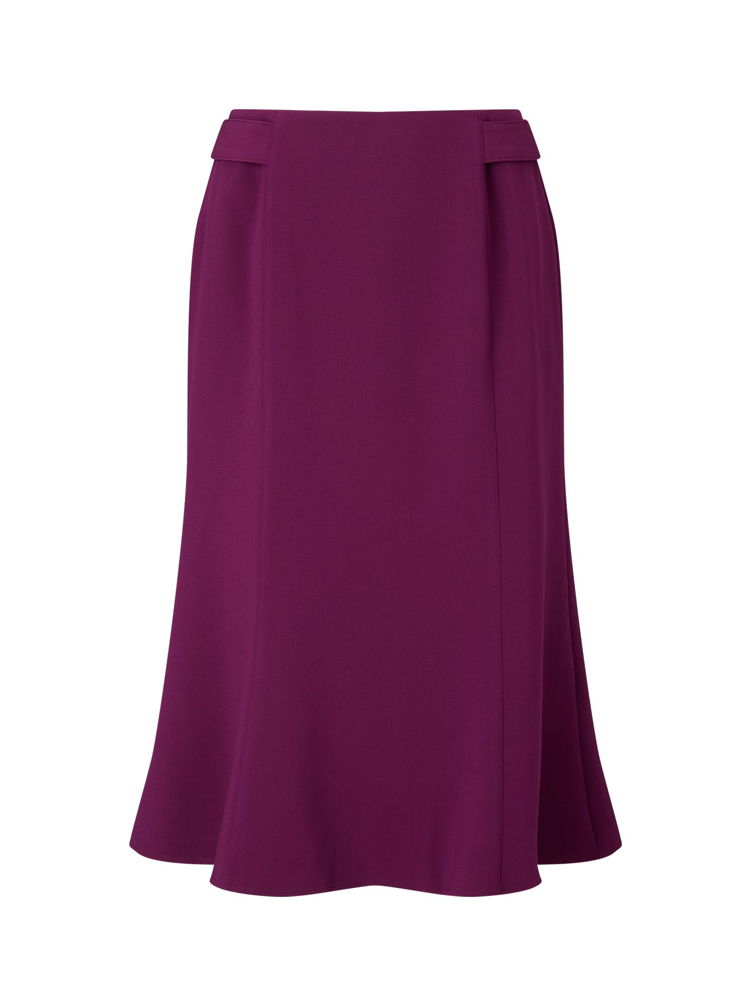 Eastex Merlot Fit And Flare Skirt, Dark Purple