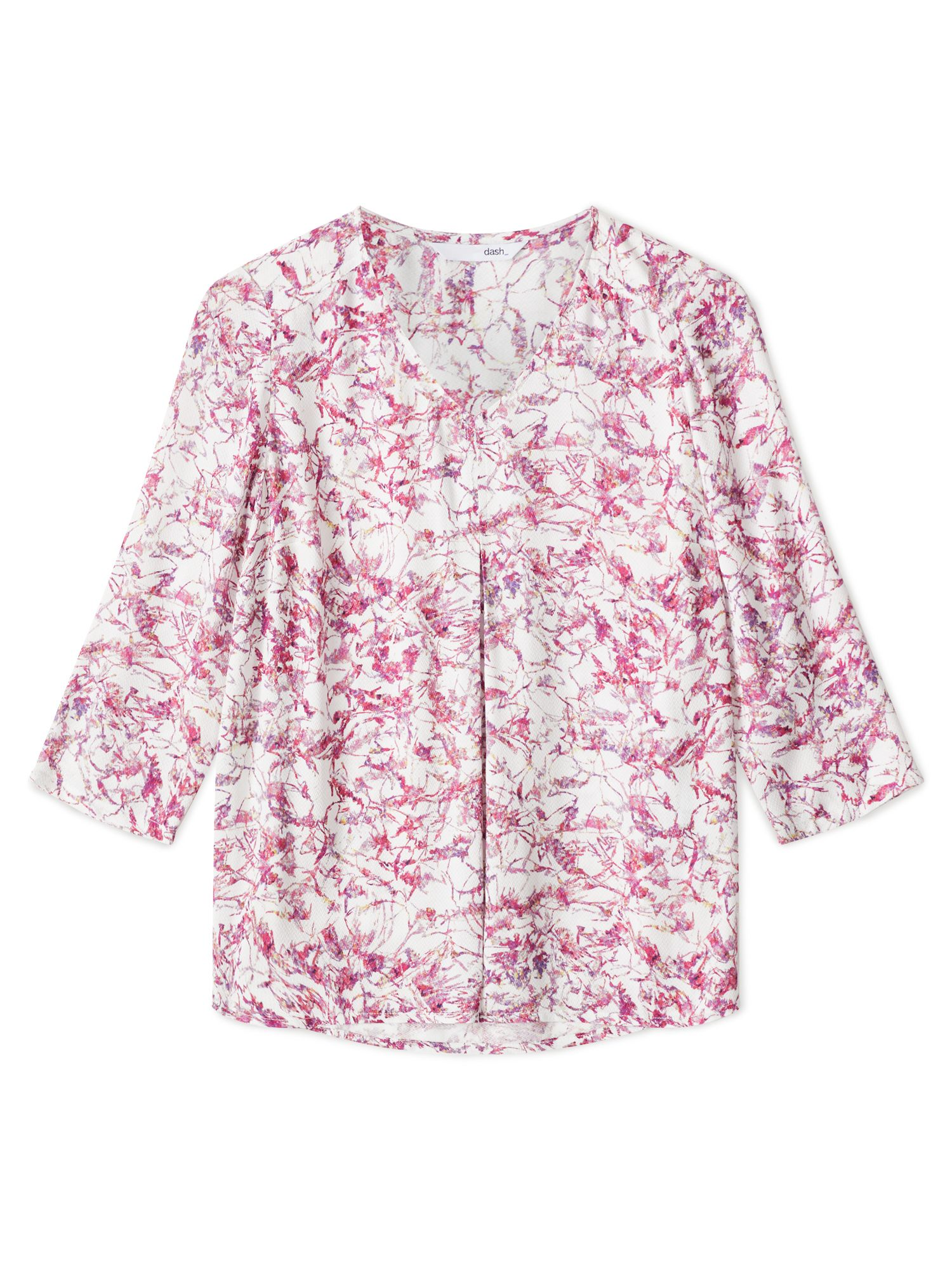 Dash Modern Bloom Blouse, Pink