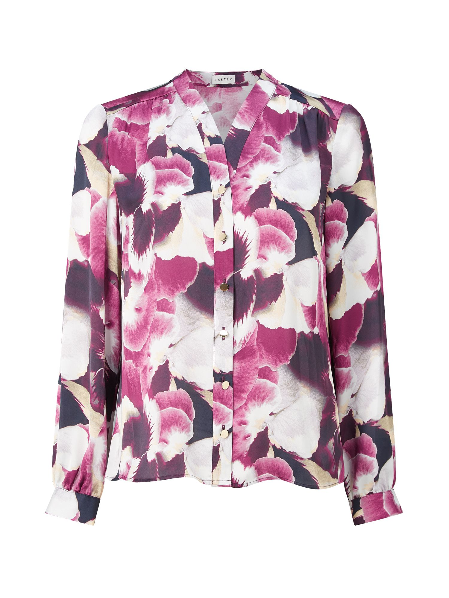 Eastex Harvest Bloom Print Blouse, Multi-Coloured
