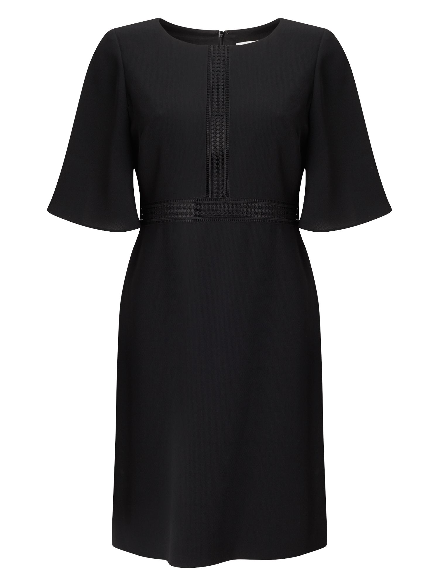 Precis Petite Petite Bell Sleeve Dress, Black