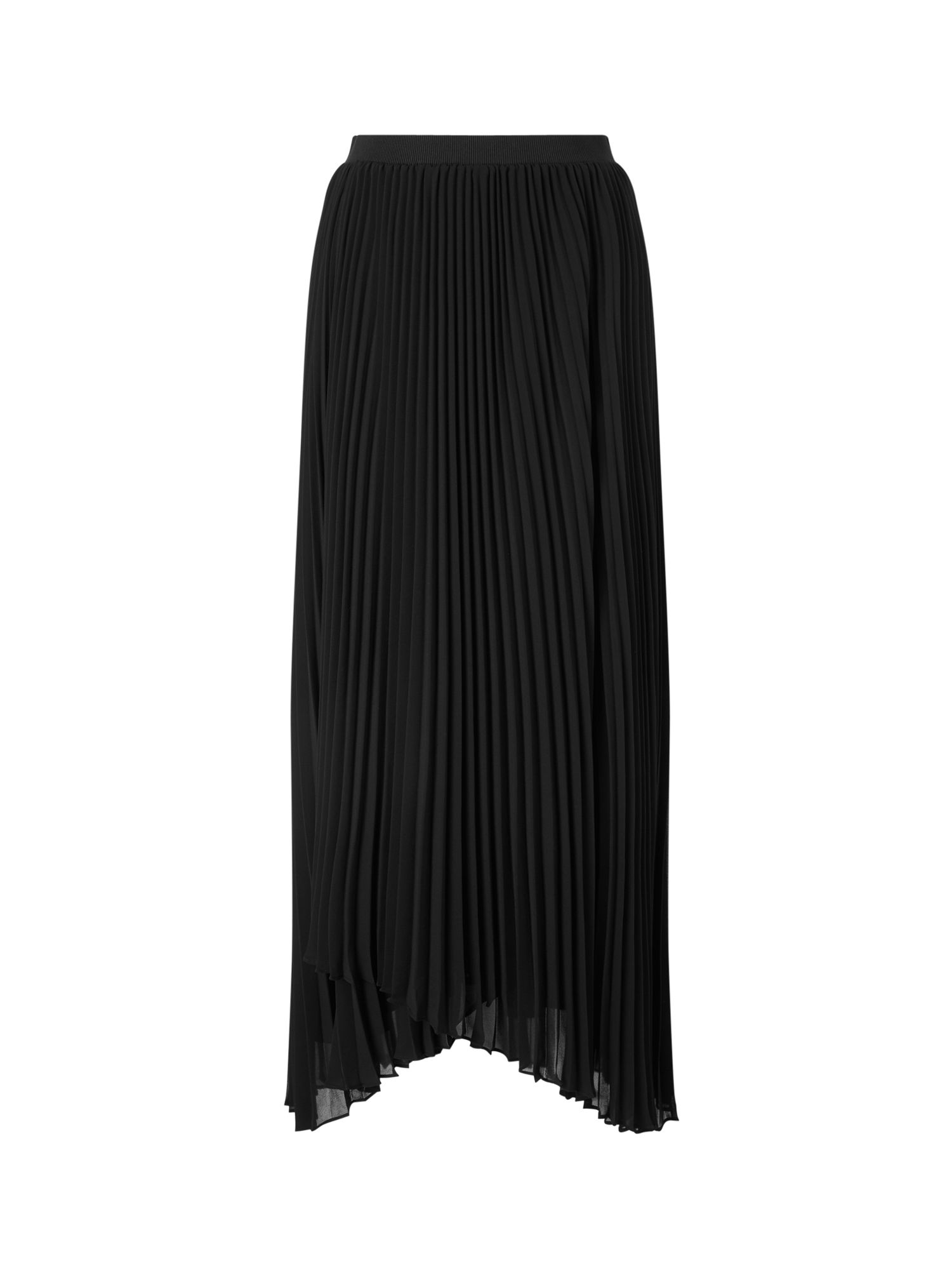 Jacques Vert SARA WRAP PLEAT MAXI SKIRT, Black
