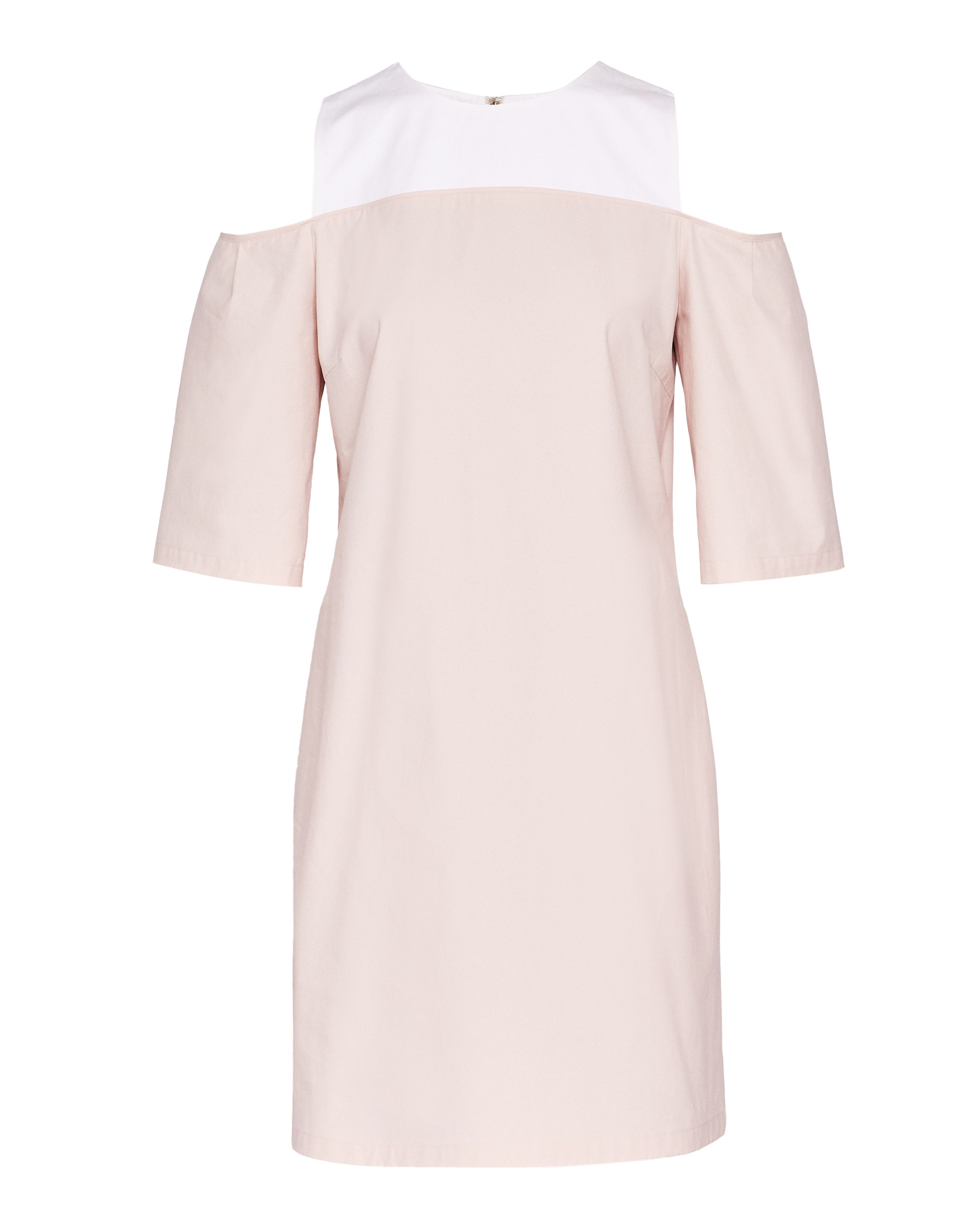 Ted Baker Janoo CBN Cold Shoulder Dress, Pink