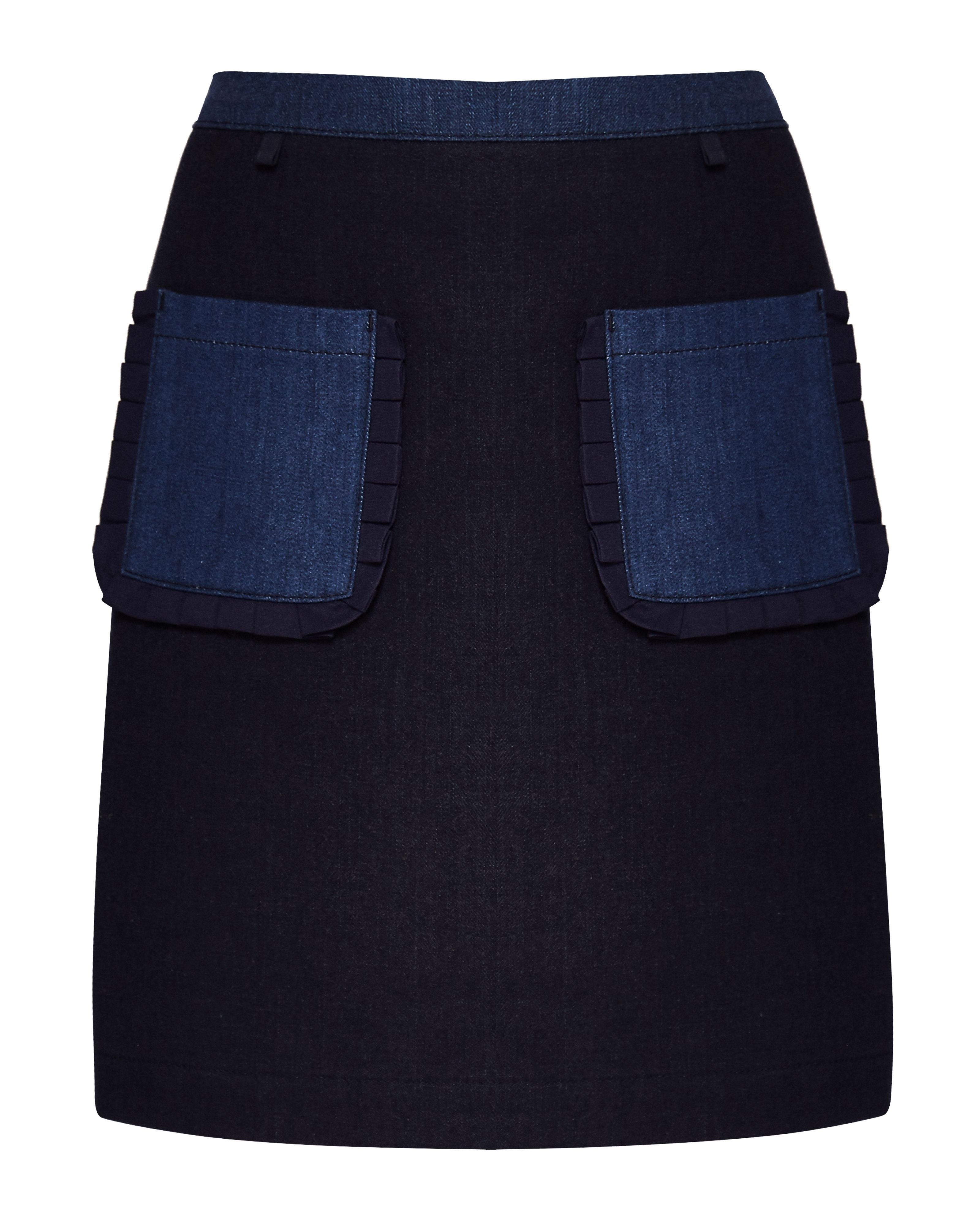 Ted Baker Aaloo CBN Denim Mini Skirt, Denim