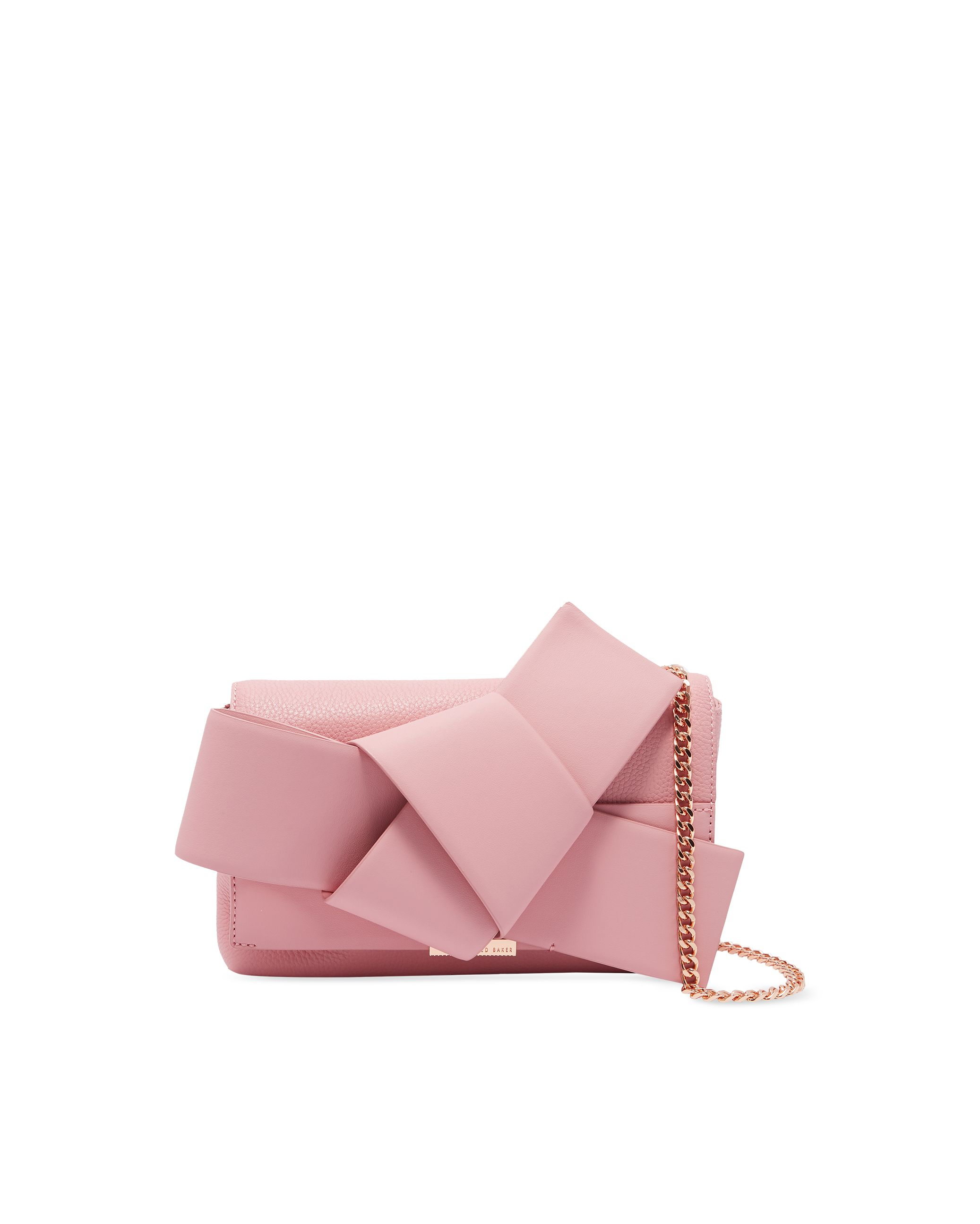 Ted Baker Agentah Knot Bow Xbody Bag, Dusty Pink