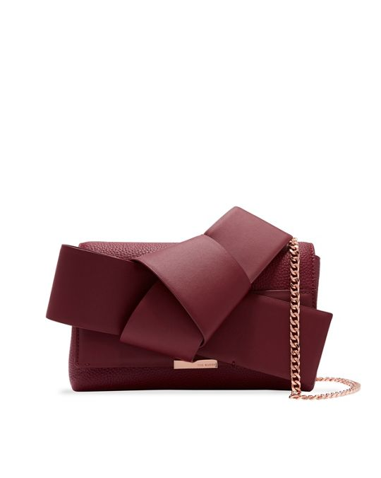 Ted Baker Agentah Knot Bow Leather Cross Body Bag