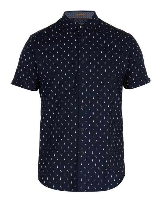 Ted Baker Cpalace Musical Instrument Shirt