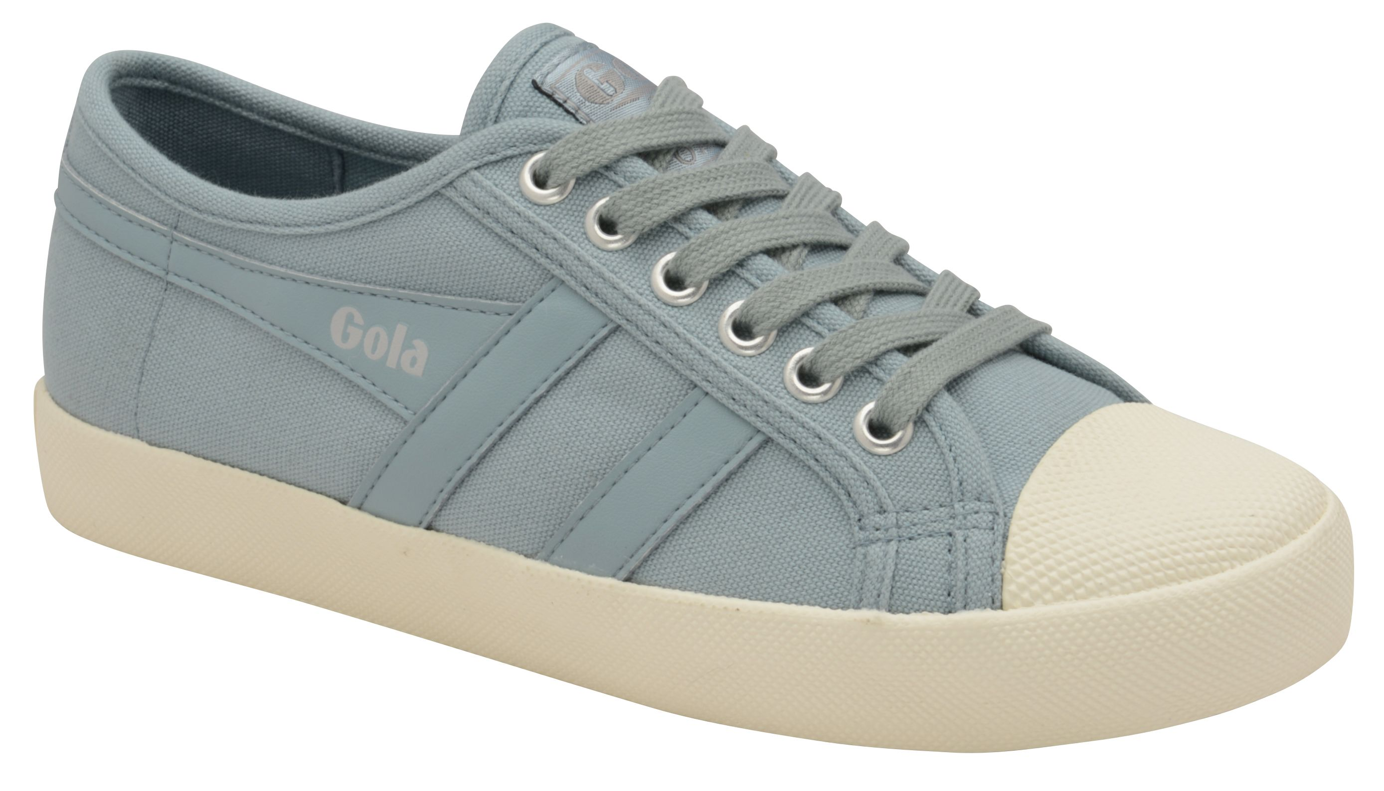 Gola Coaster Lace Up Trainers, Sky Blue