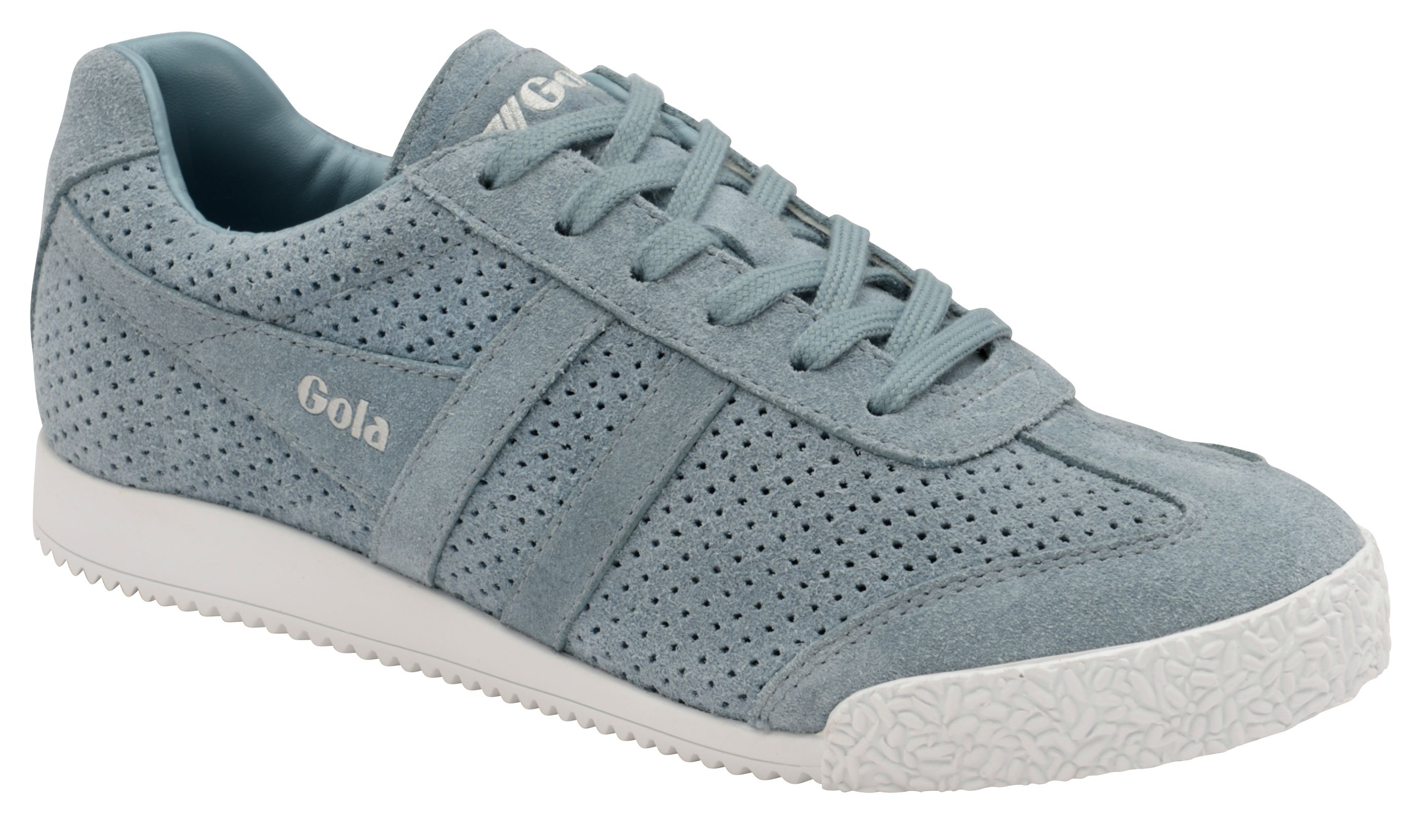 Gola Harrier Squared Lace Up Trainers, Teal