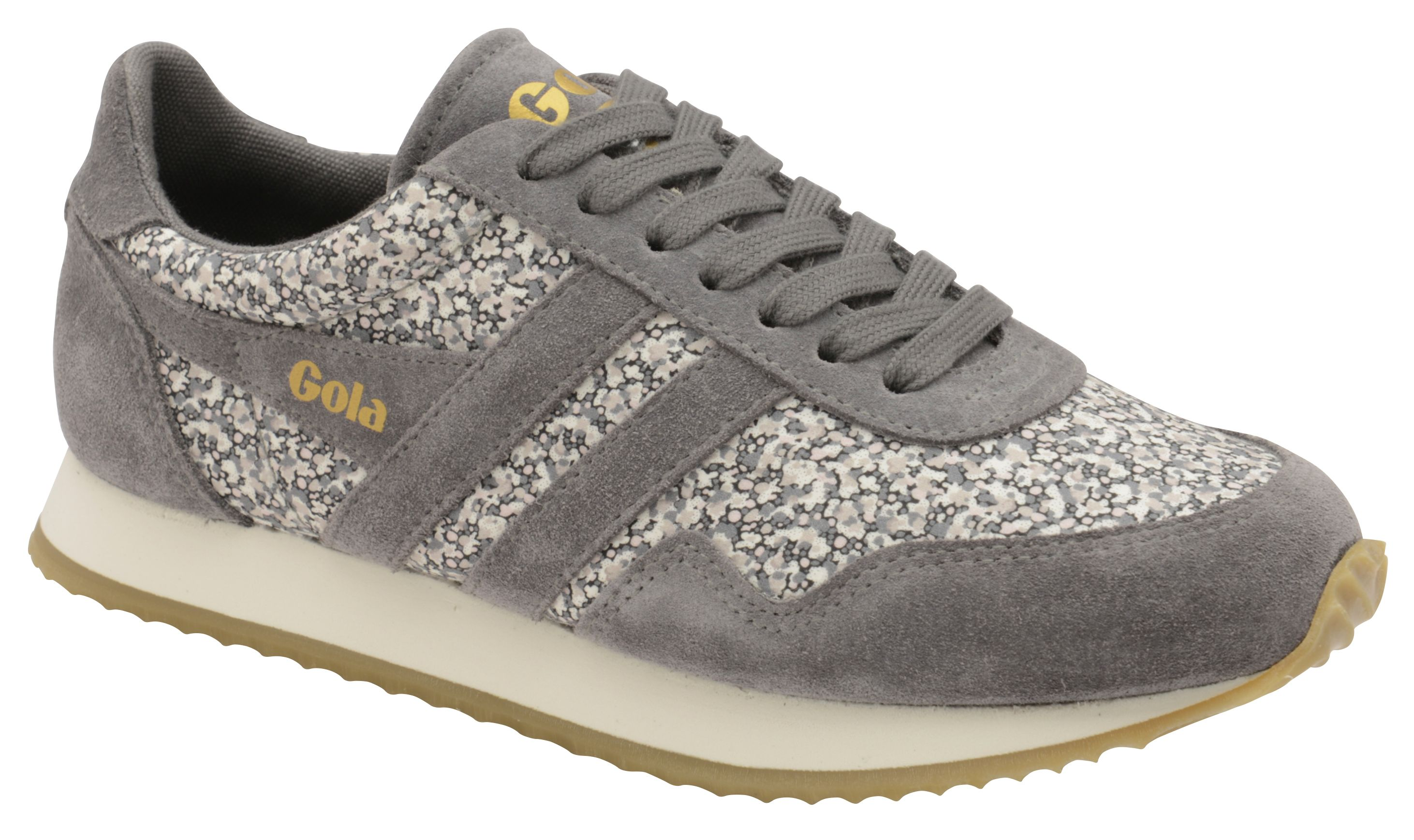 Gola Spirit Liberty Pp Lace Up Trainers, Grey