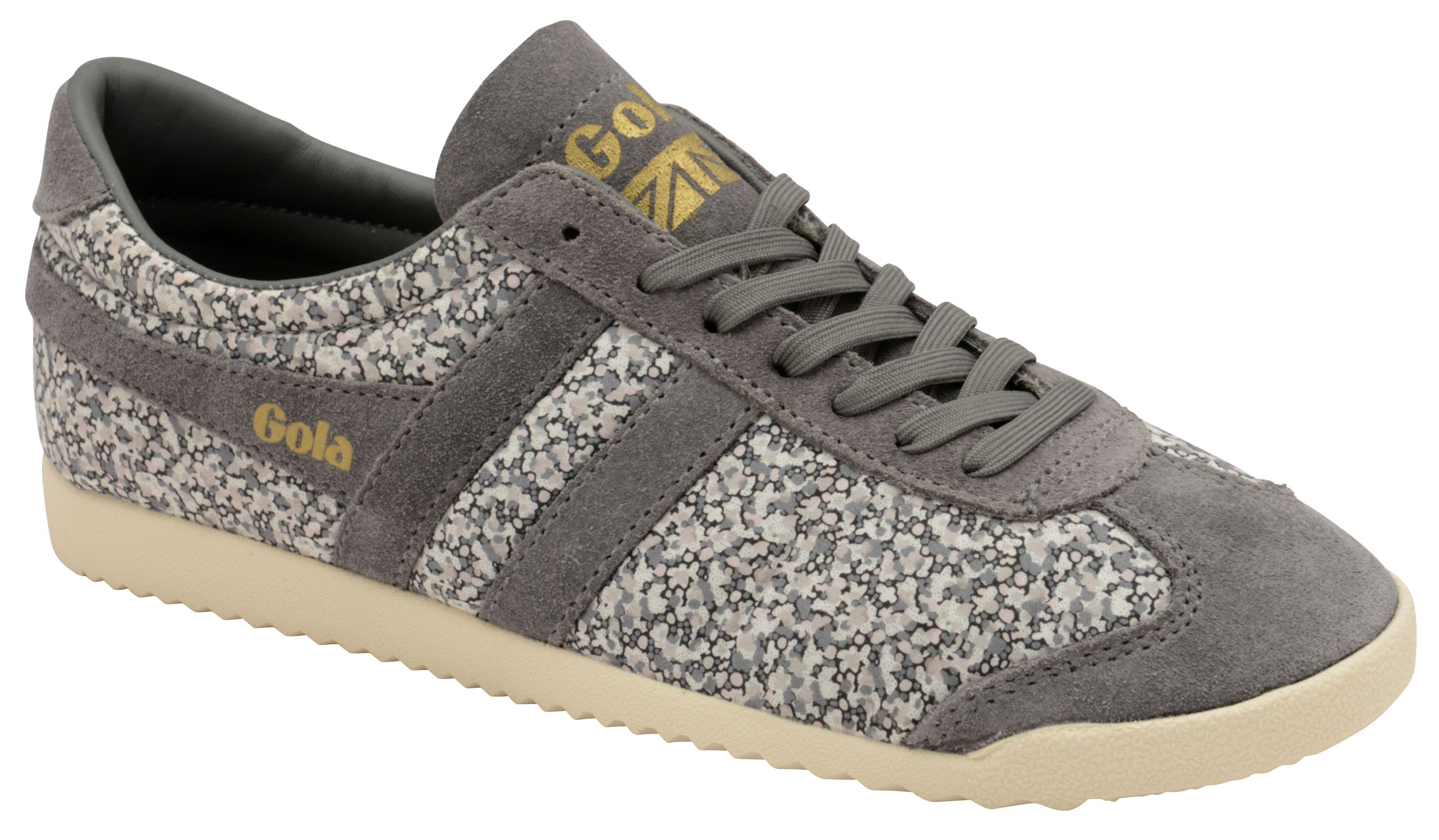 Gola Bullet Liberty Pp Lace Up Trainers, Grey