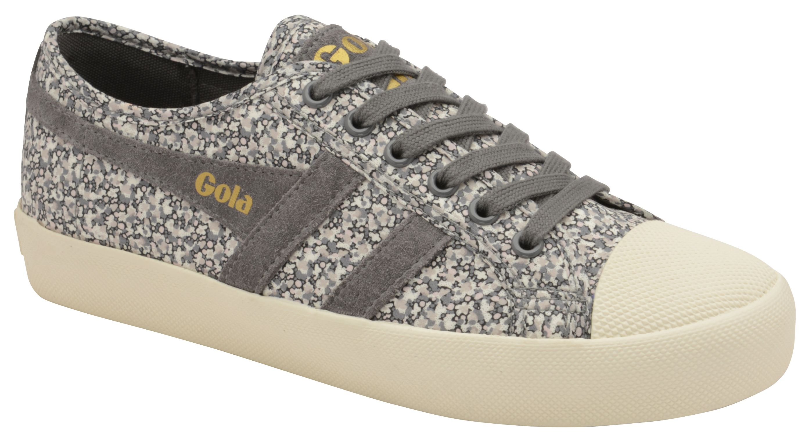 Gola Coaster Liberty Pp Lace Up Trainers, Grey