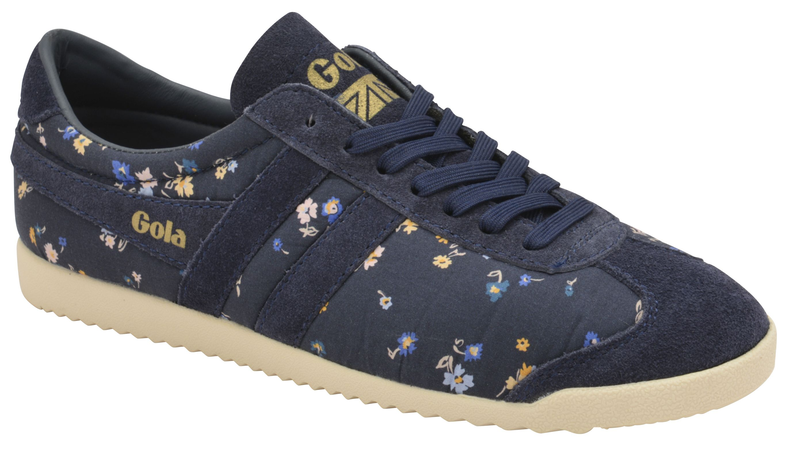 Gola Bullet Liberty St Lace Up Trainers, Blue