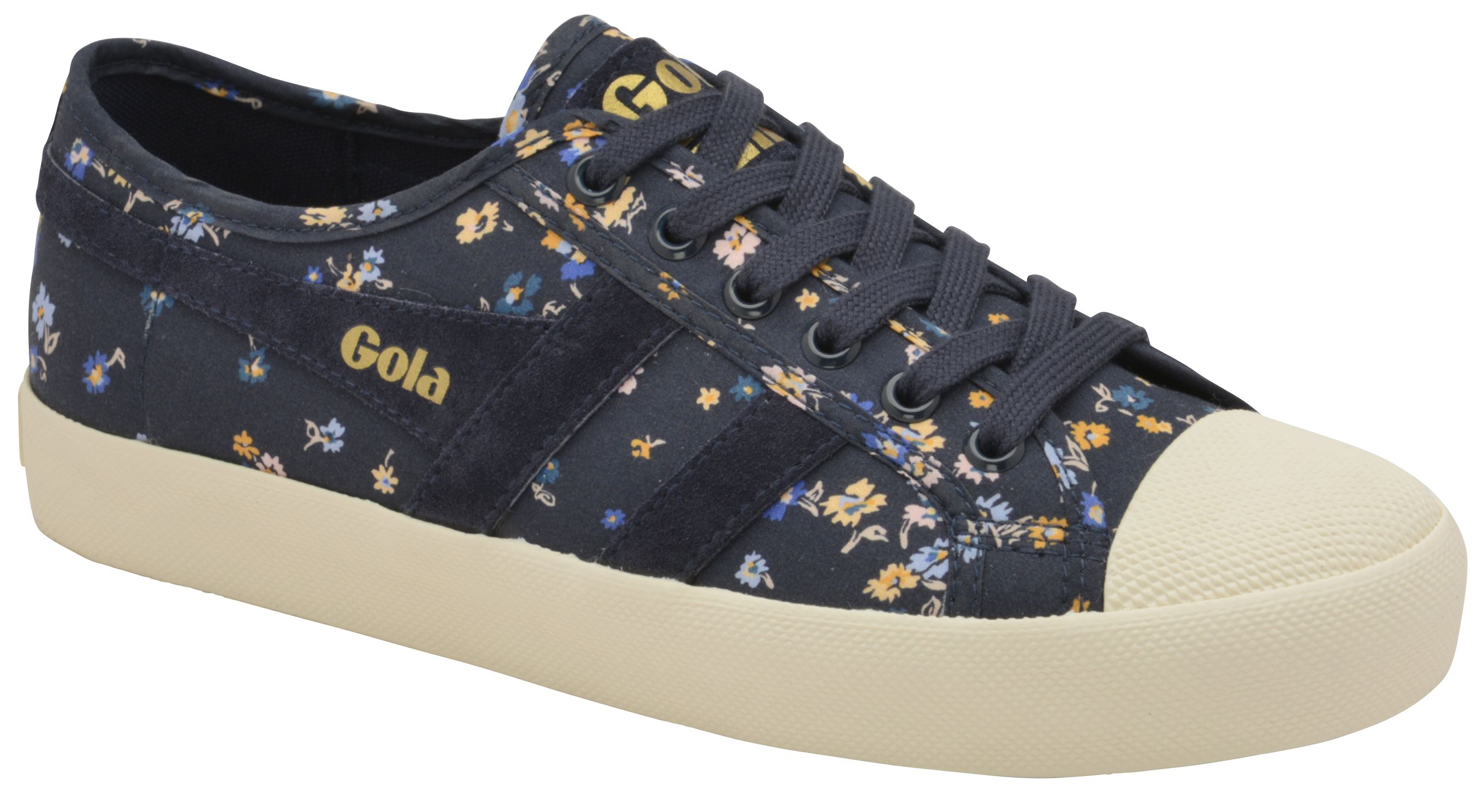 Gola Coaster Liberty St Lace Up Trainers, Blue