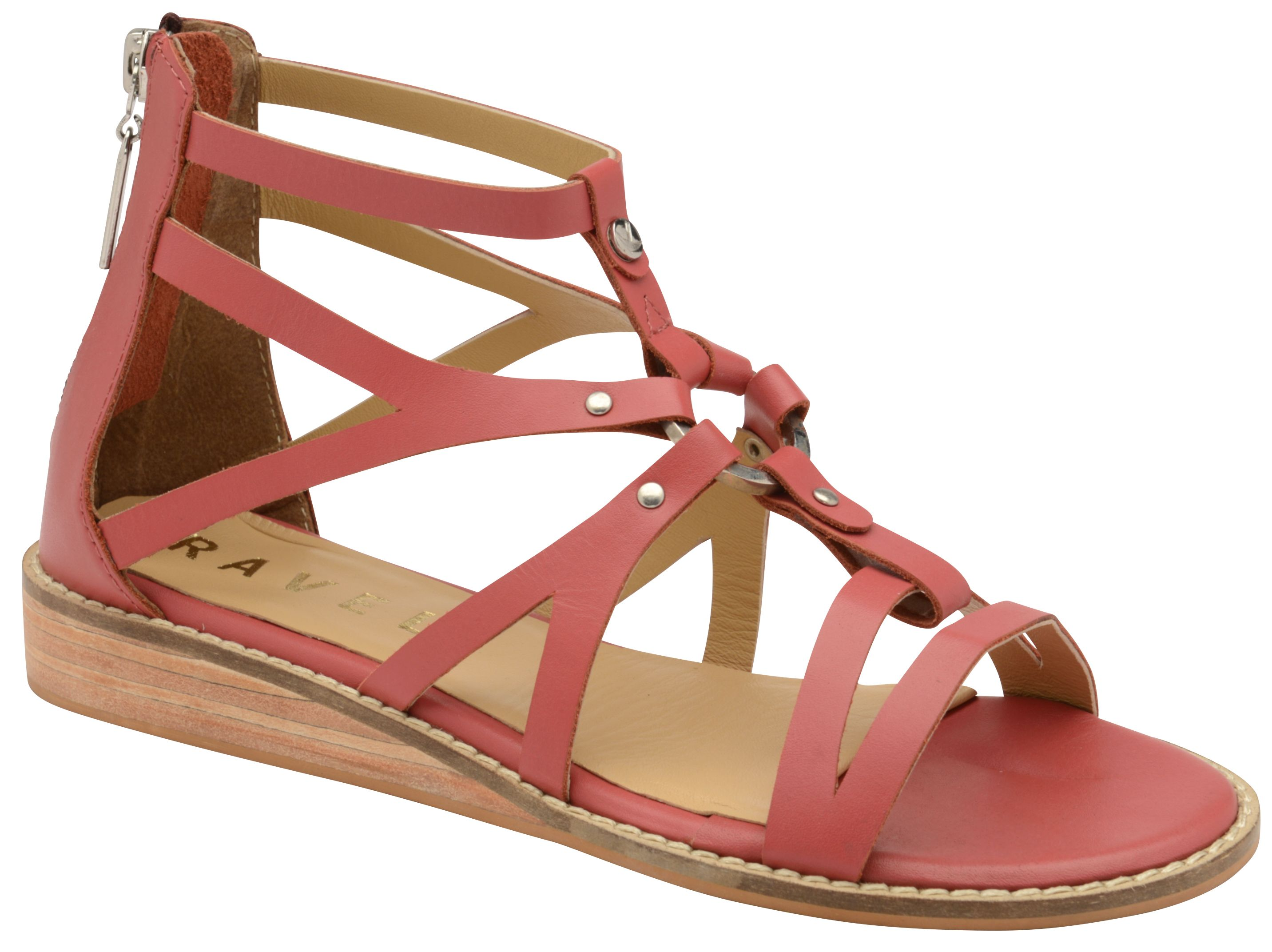 Ravel Minto Strappy Sandals, Rose