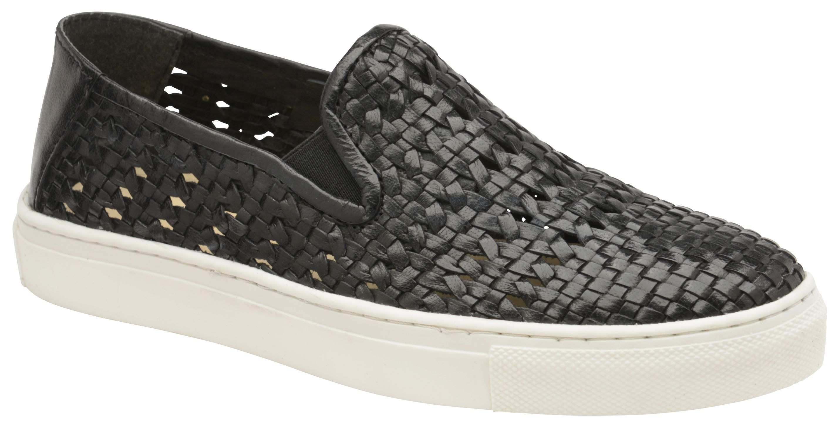 Ravel Ferndale Casual Shoes, Black Leather