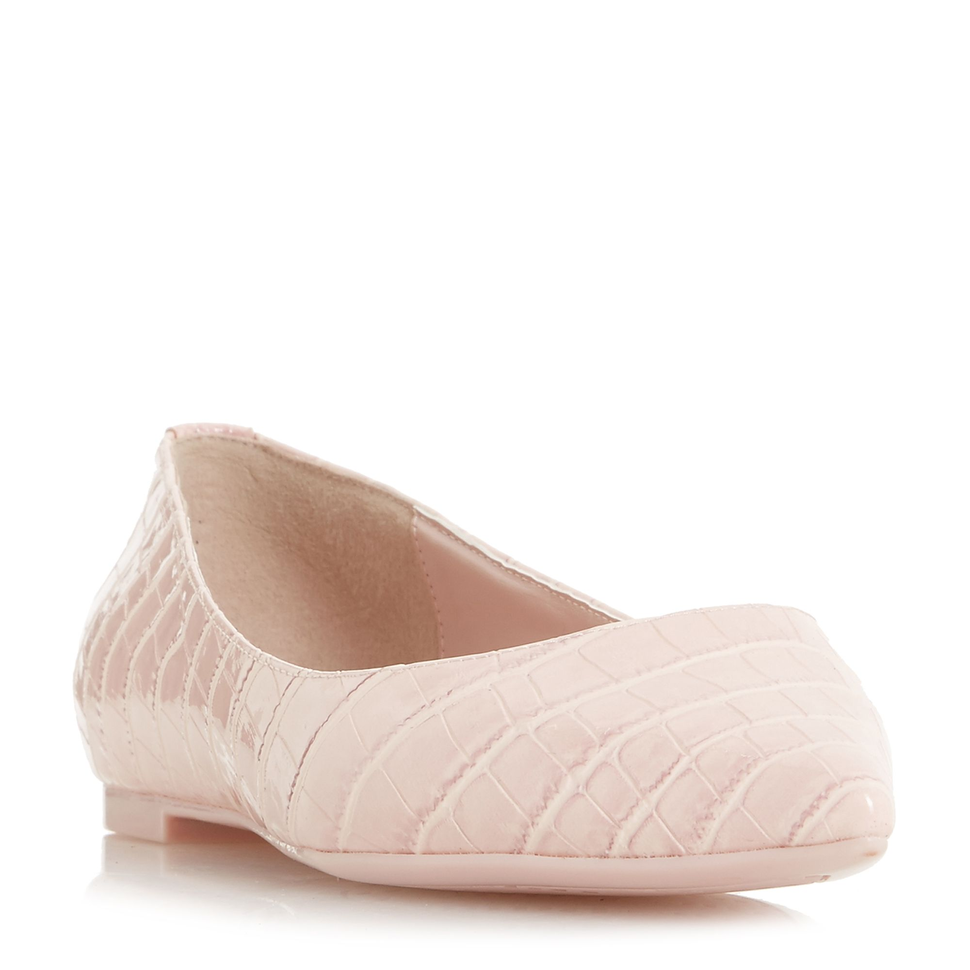 Dune Aeron Flex Pointed Toe Slip On Shoes, Pink