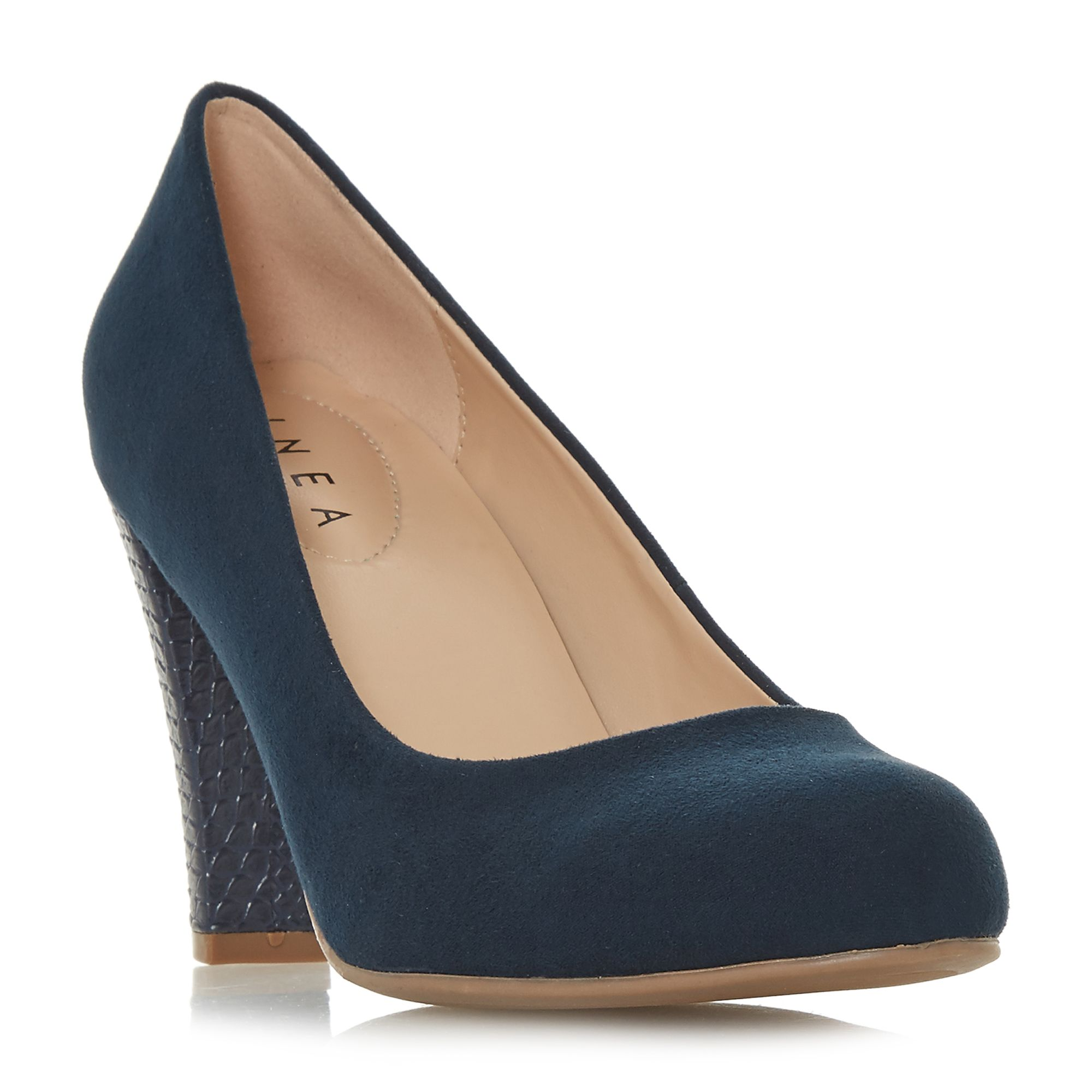 Linea Alianna Comfort Court Shoes, Blue