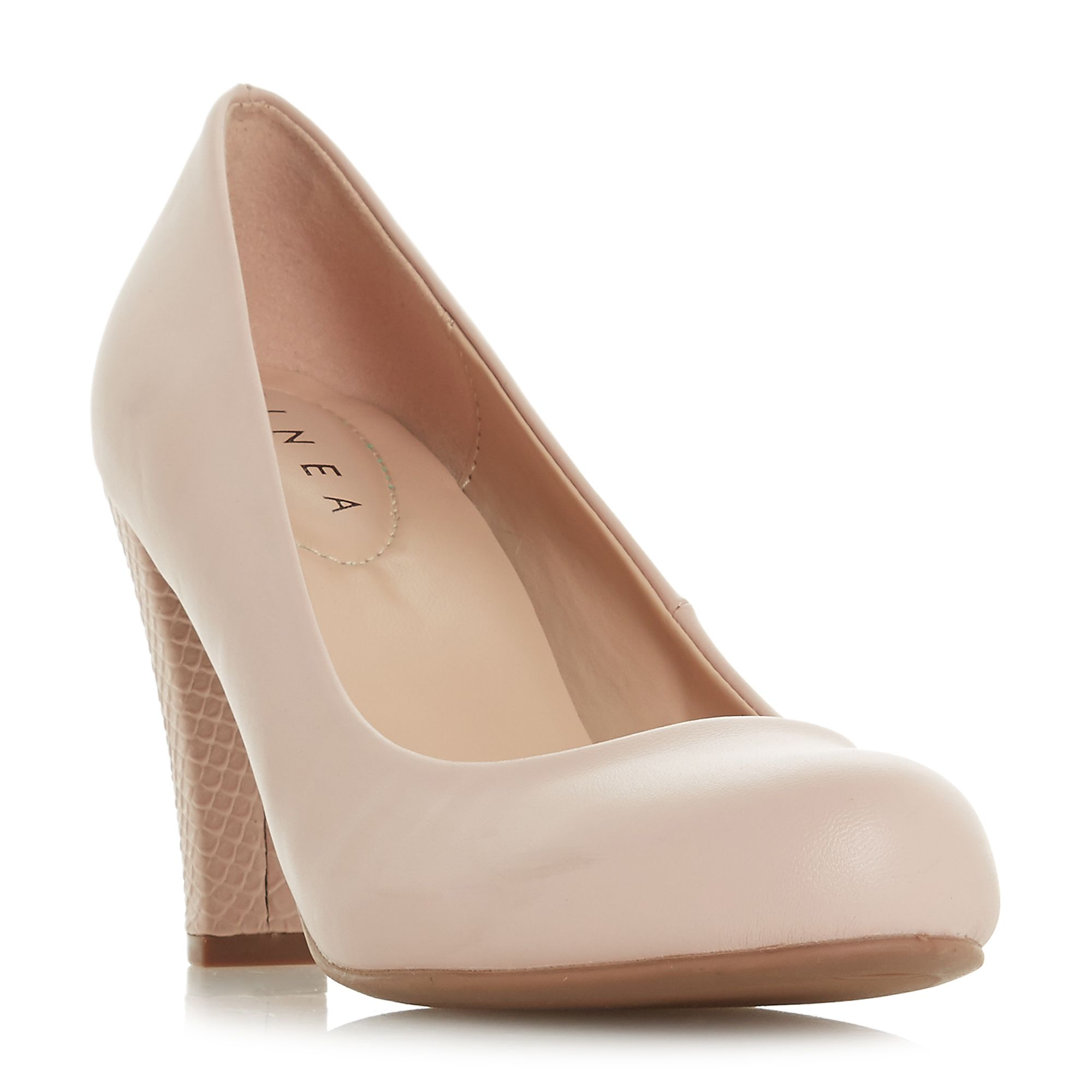 Linea Alianna Comfort Court Shoes, Nude