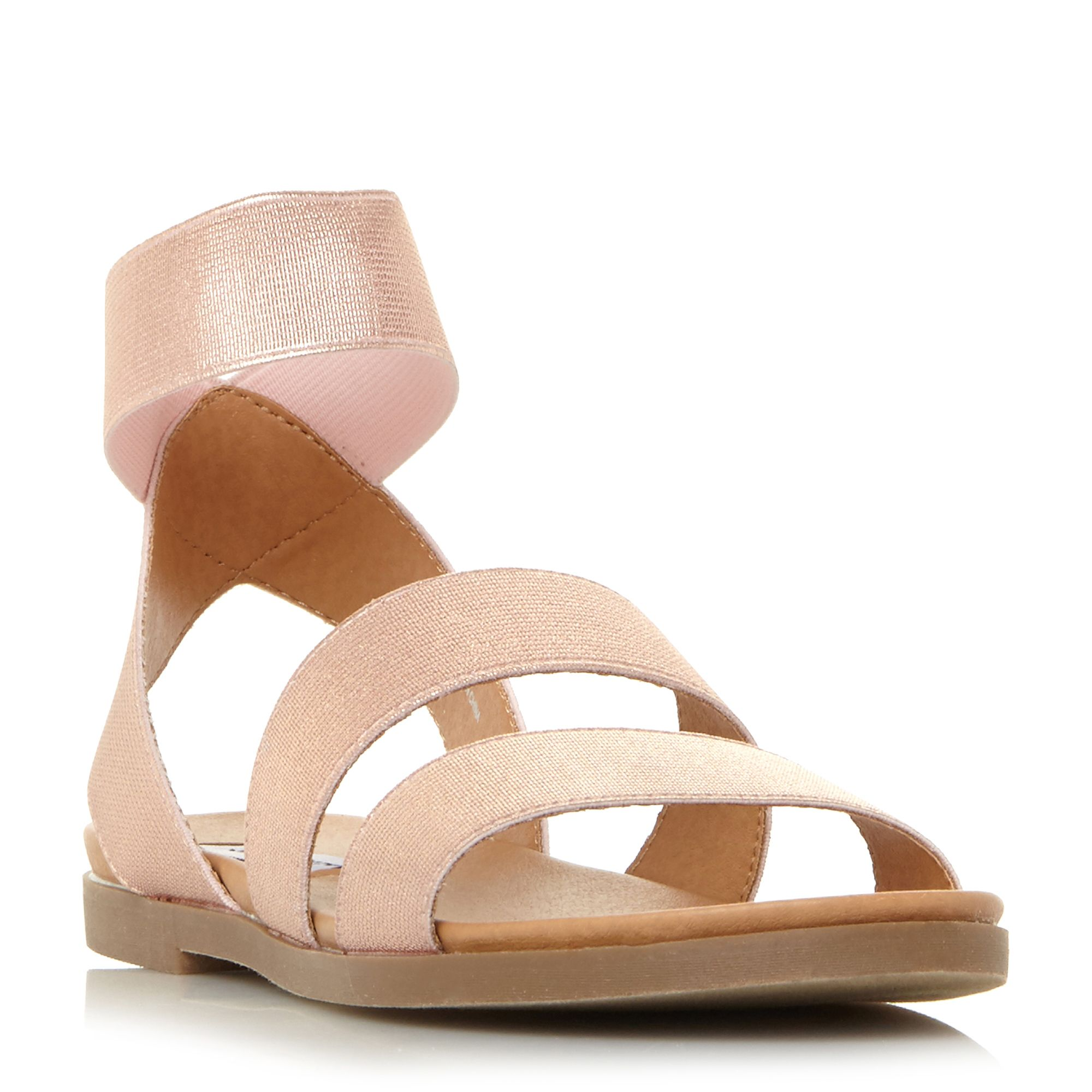 Steve Madden Delicious Sm Elasticated Sandals, Silverlic